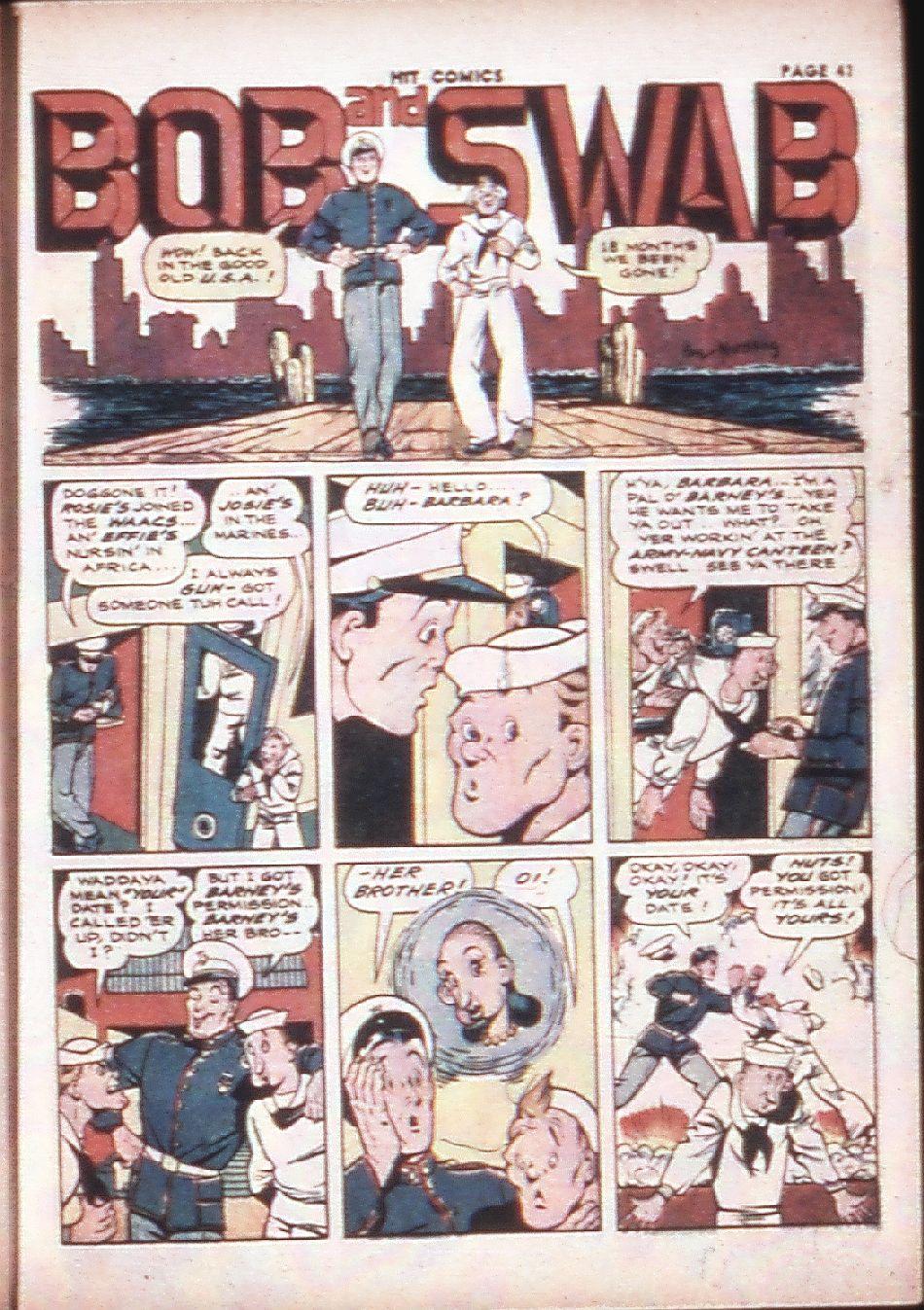 Read online Hit Comics comic -  Issue #29 - 43