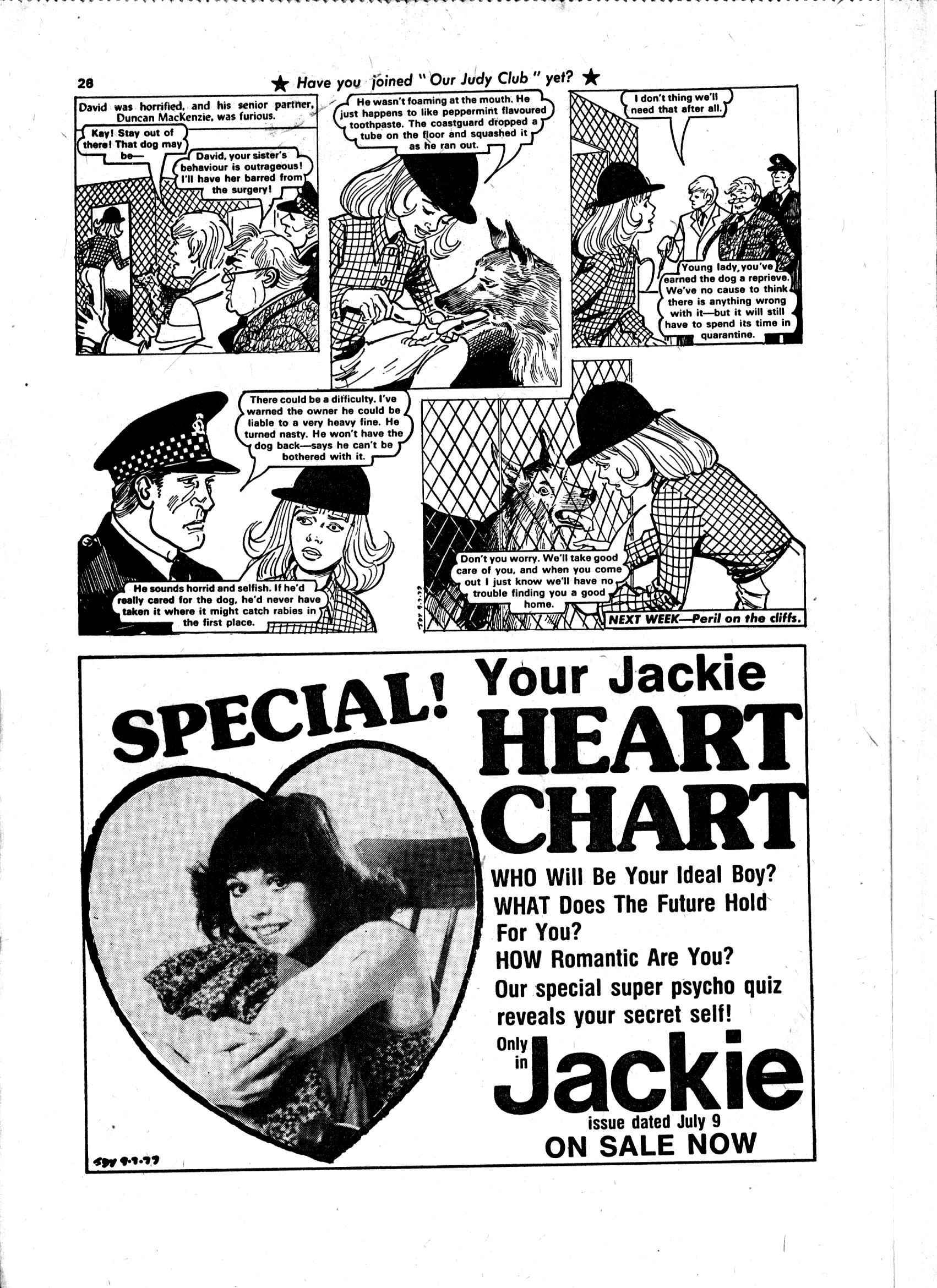 Read online Judy comic -  Issue #913 - 28