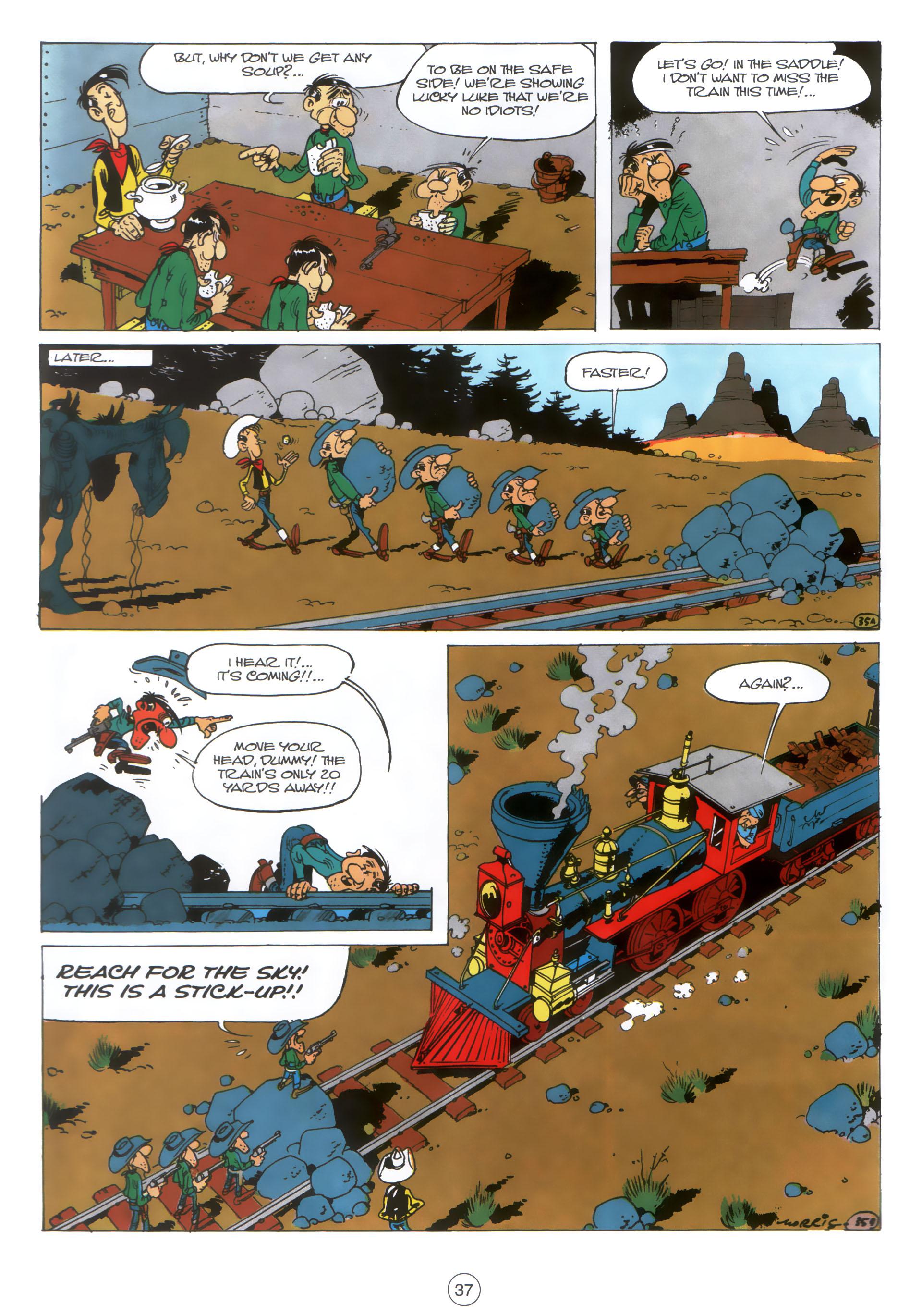 Read online A Lucky Luke Adventure comic -  Issue #30 - 36