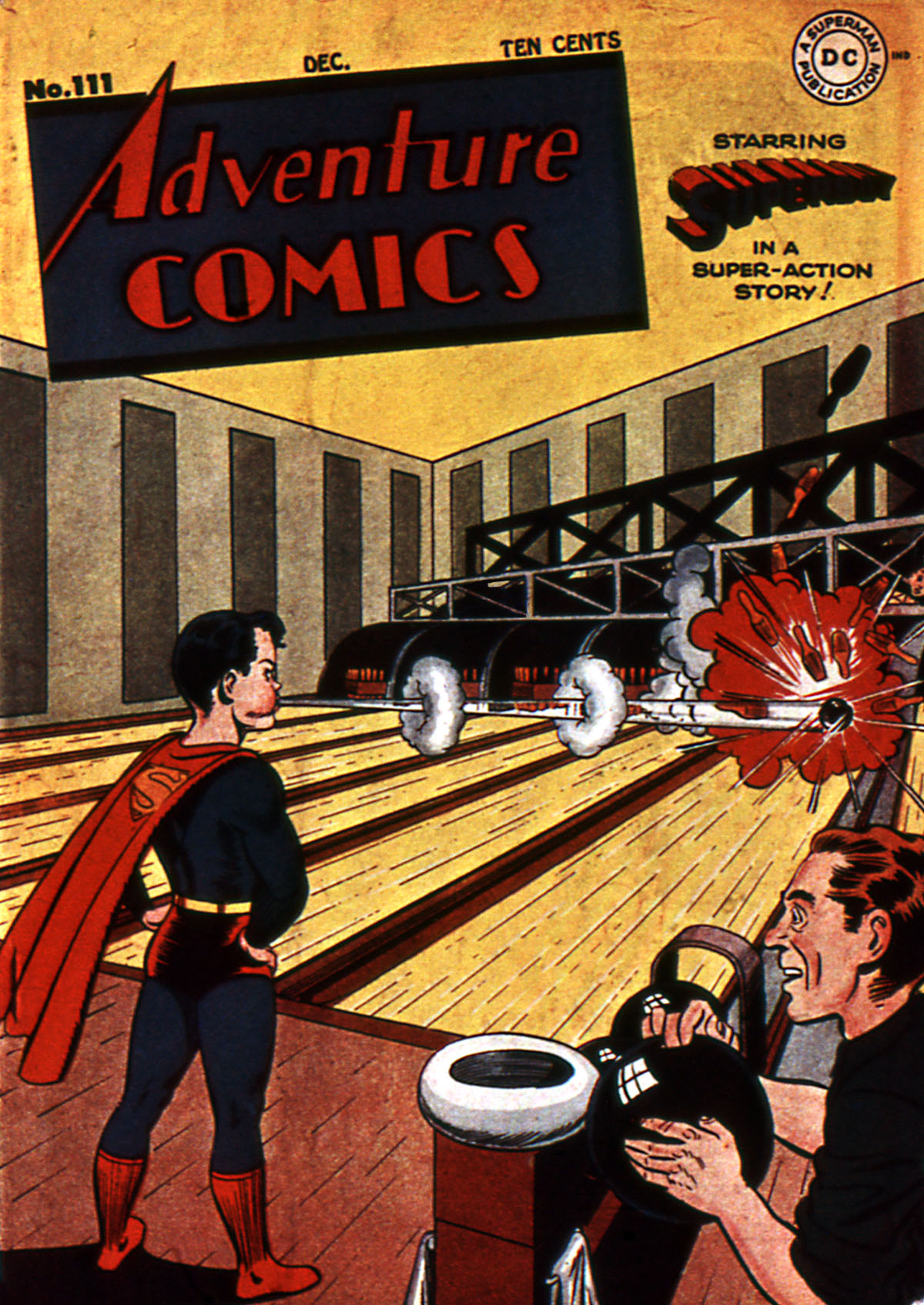 Read online Adventure Comics (1938) comic -  Issue #111 - 1