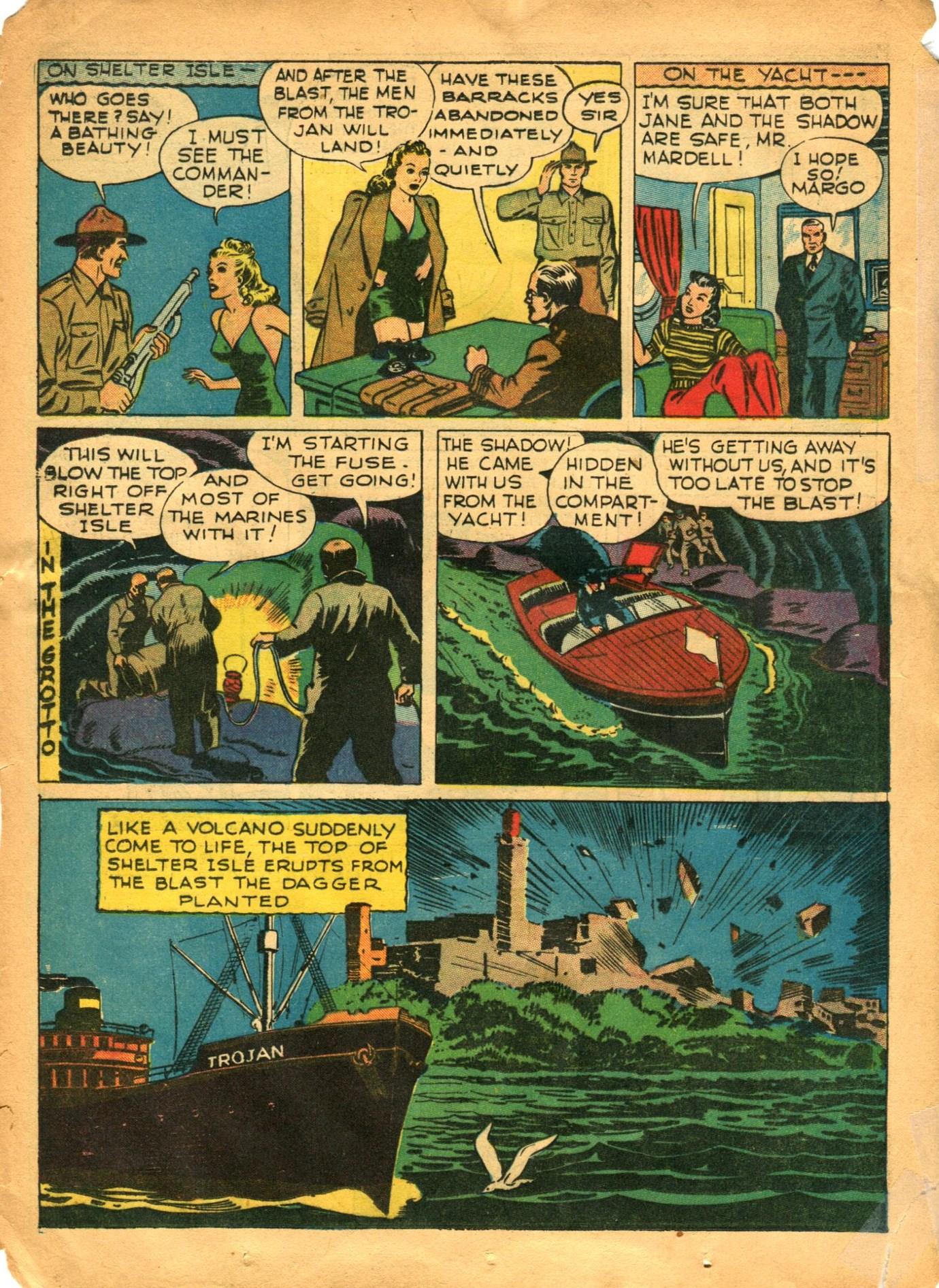 Read online Shadow Comics comic -  Issue #12 - 28