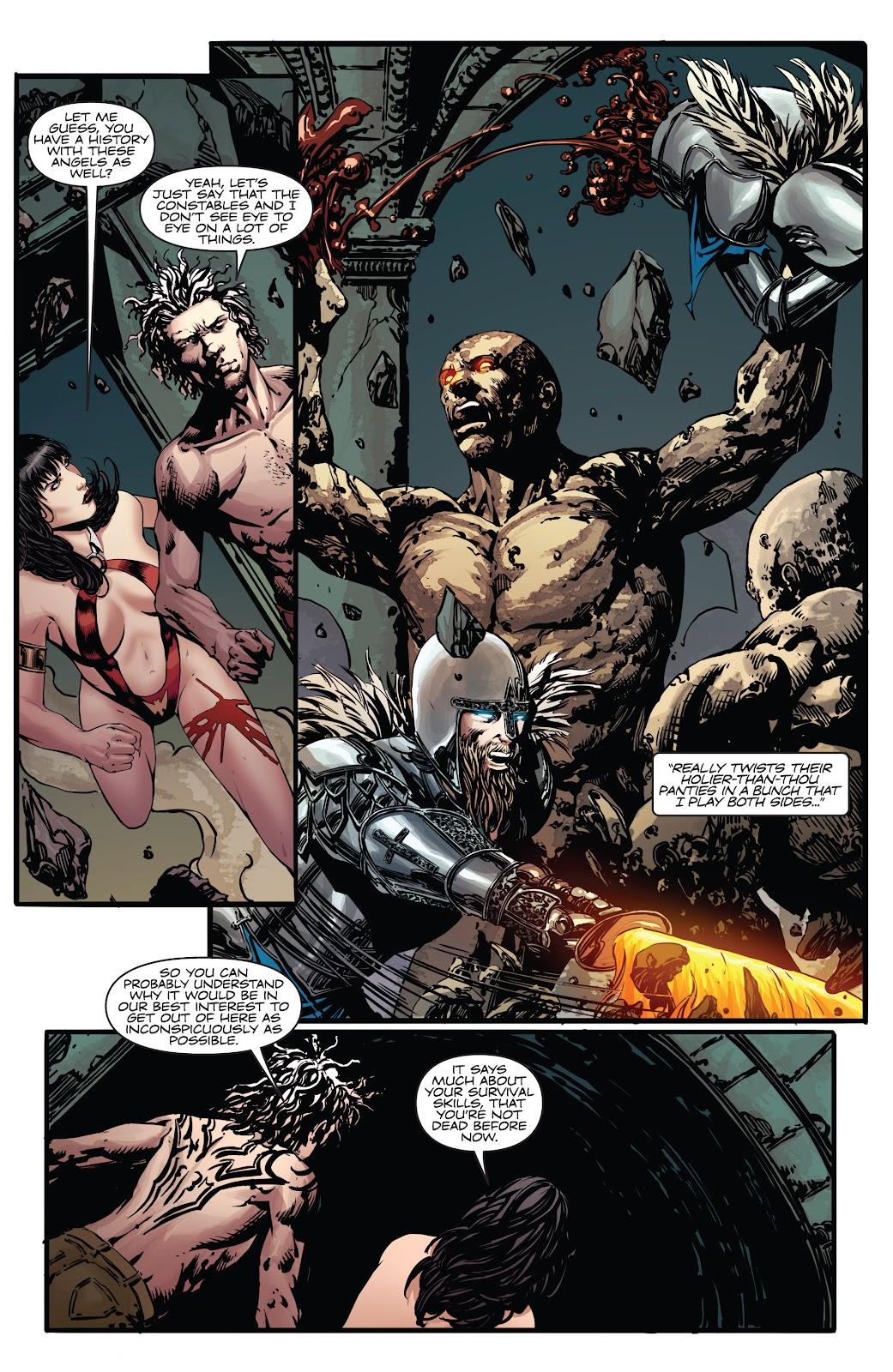 Read online Vampirella Strikes comic -  Issue #4 - 14