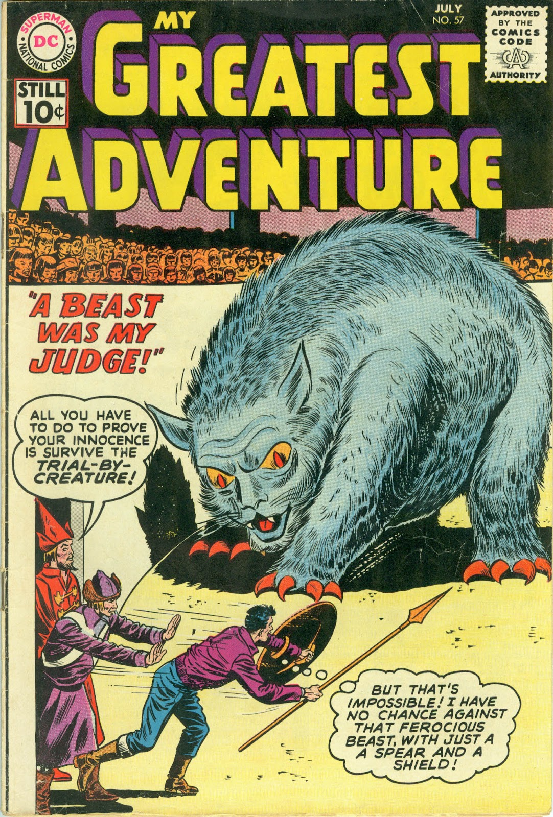 My Greatest Adventure (1955) issue 57 - Page 1