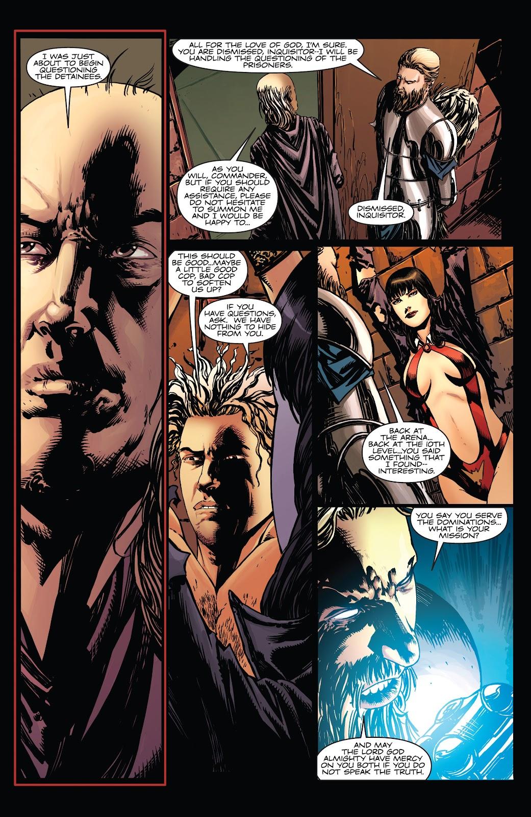 Read online Vampirella Strikes comic -  Issue #5 - 8