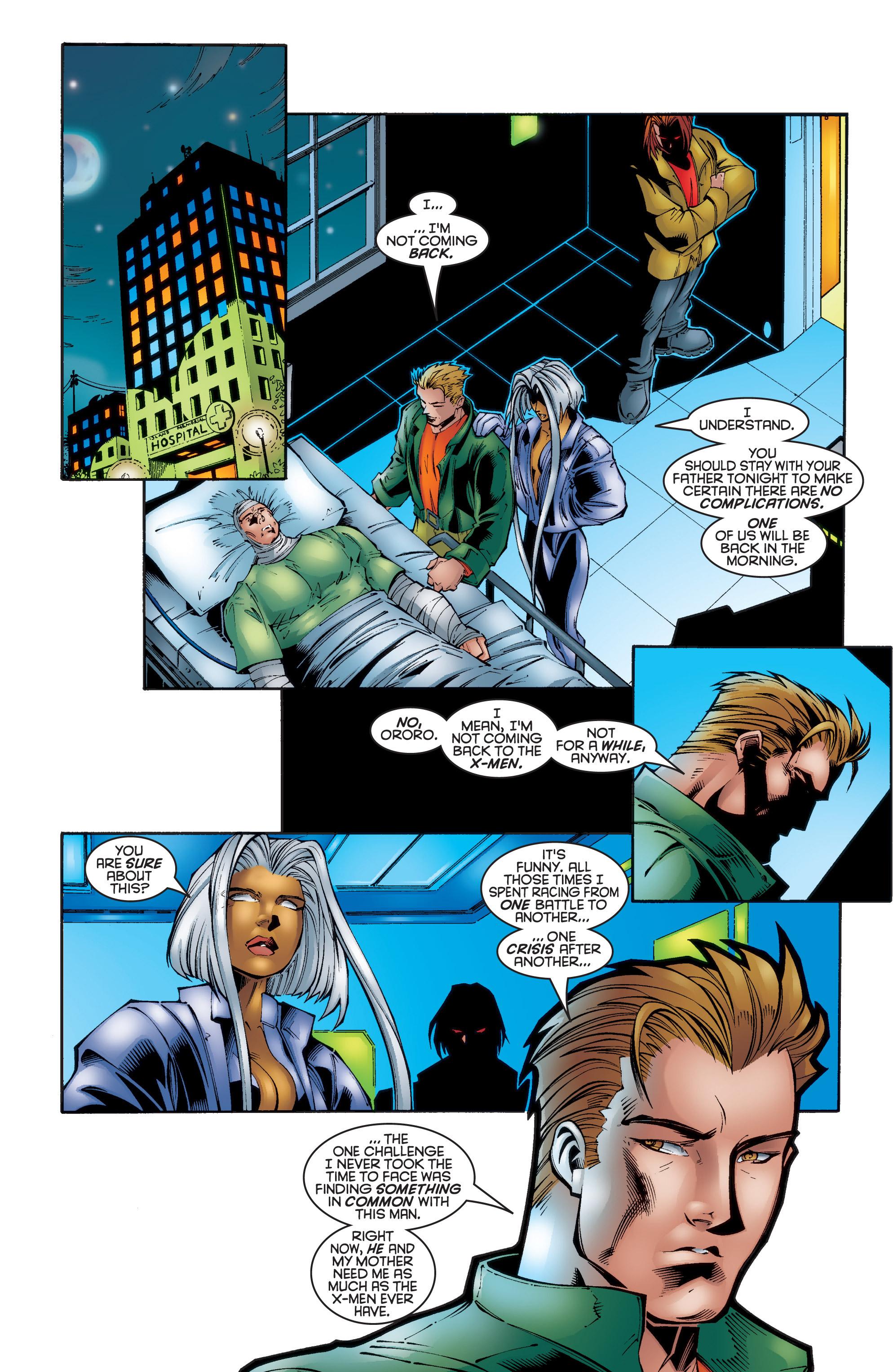 Read online Uncanny X-Men (1963) comic -  Issue #340 - 22