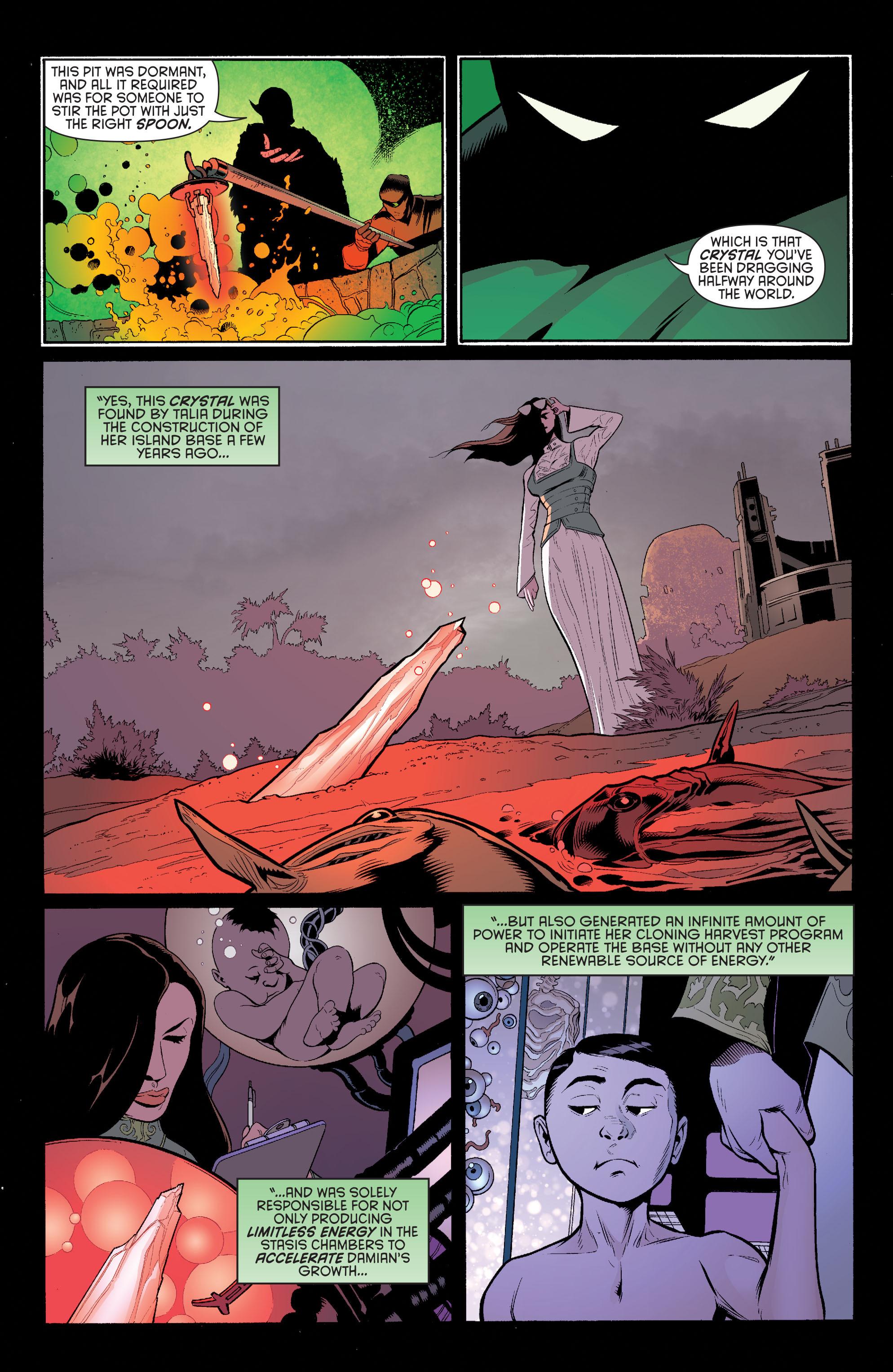 Read online Batman and Robin (2011) comic -  Issue #32 - Batman and Ra's al Ghul - 6
