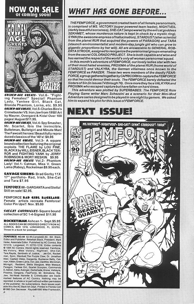 Femforce 89 Page 2
