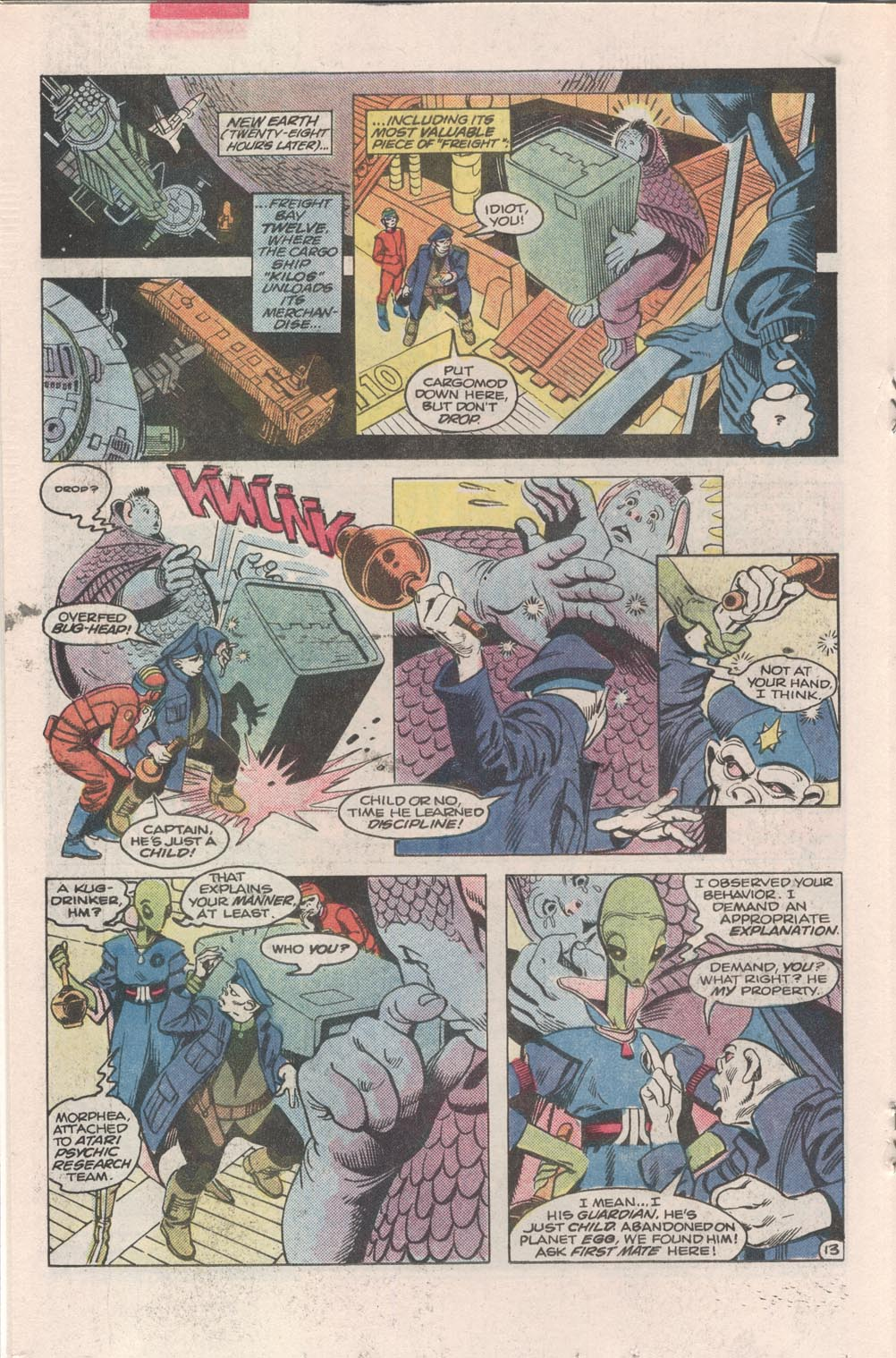 Read online Atari Force (1984) comic -  Issue #3 - 14