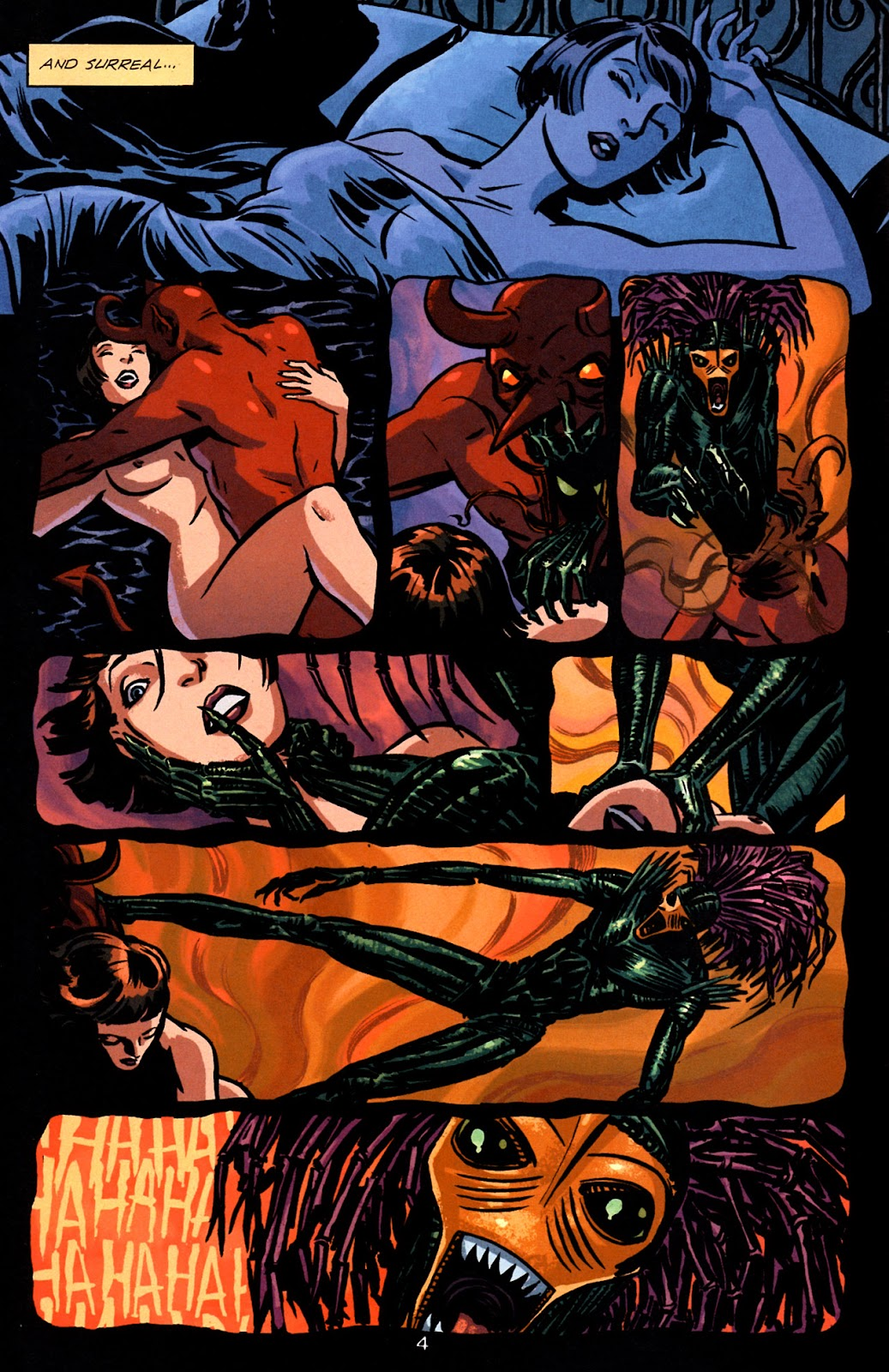 Read online Beware The Creeper (2003) comic -  Issue #1 - 5