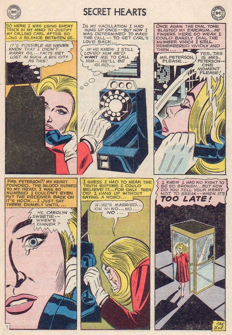 Read online Secret Hearts comic -  Issue #102 - 17