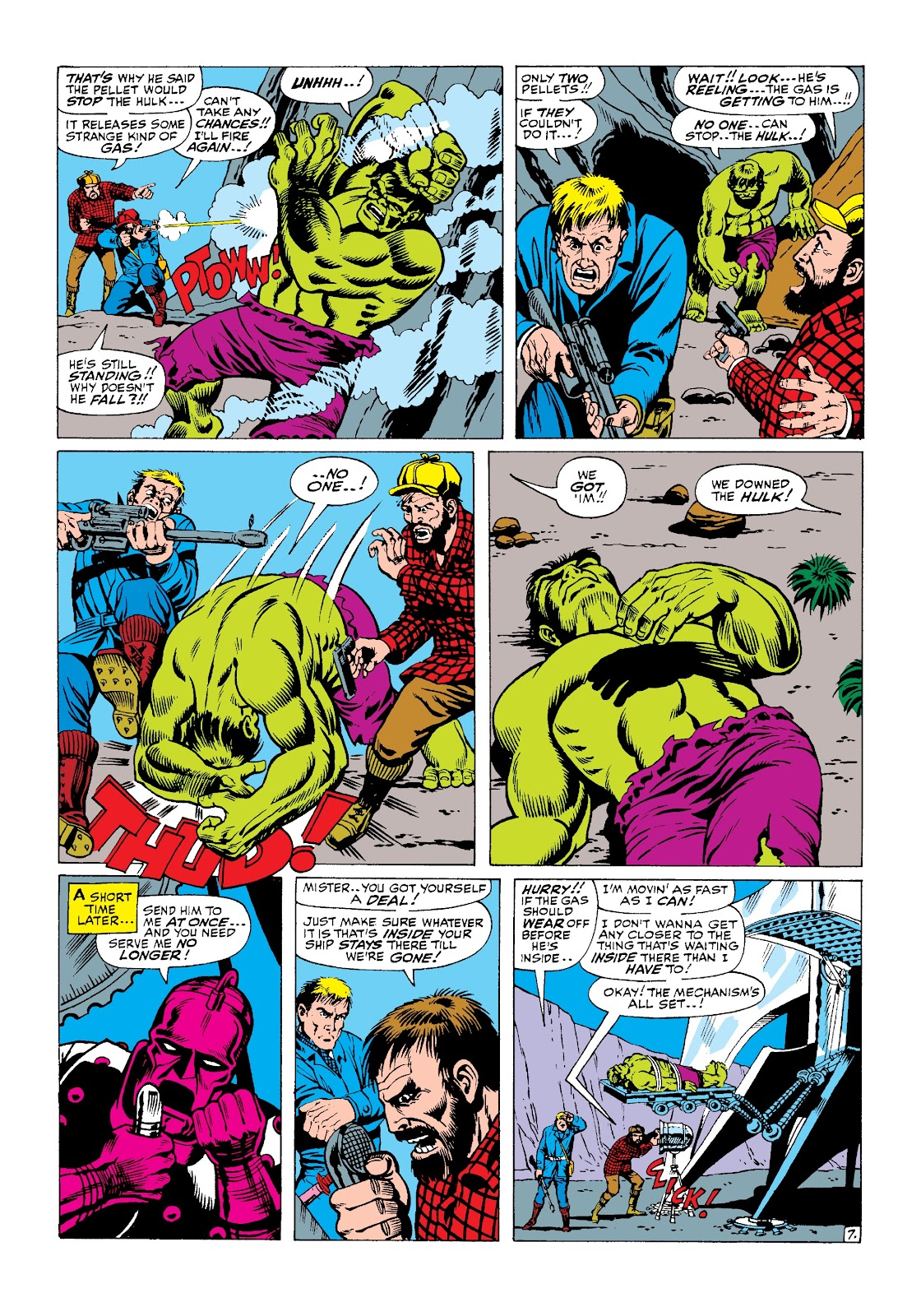 Read online Marvel Masterworks: The Incredible Hulk comic -  Issue # TPB 3 (Part 2) - 68