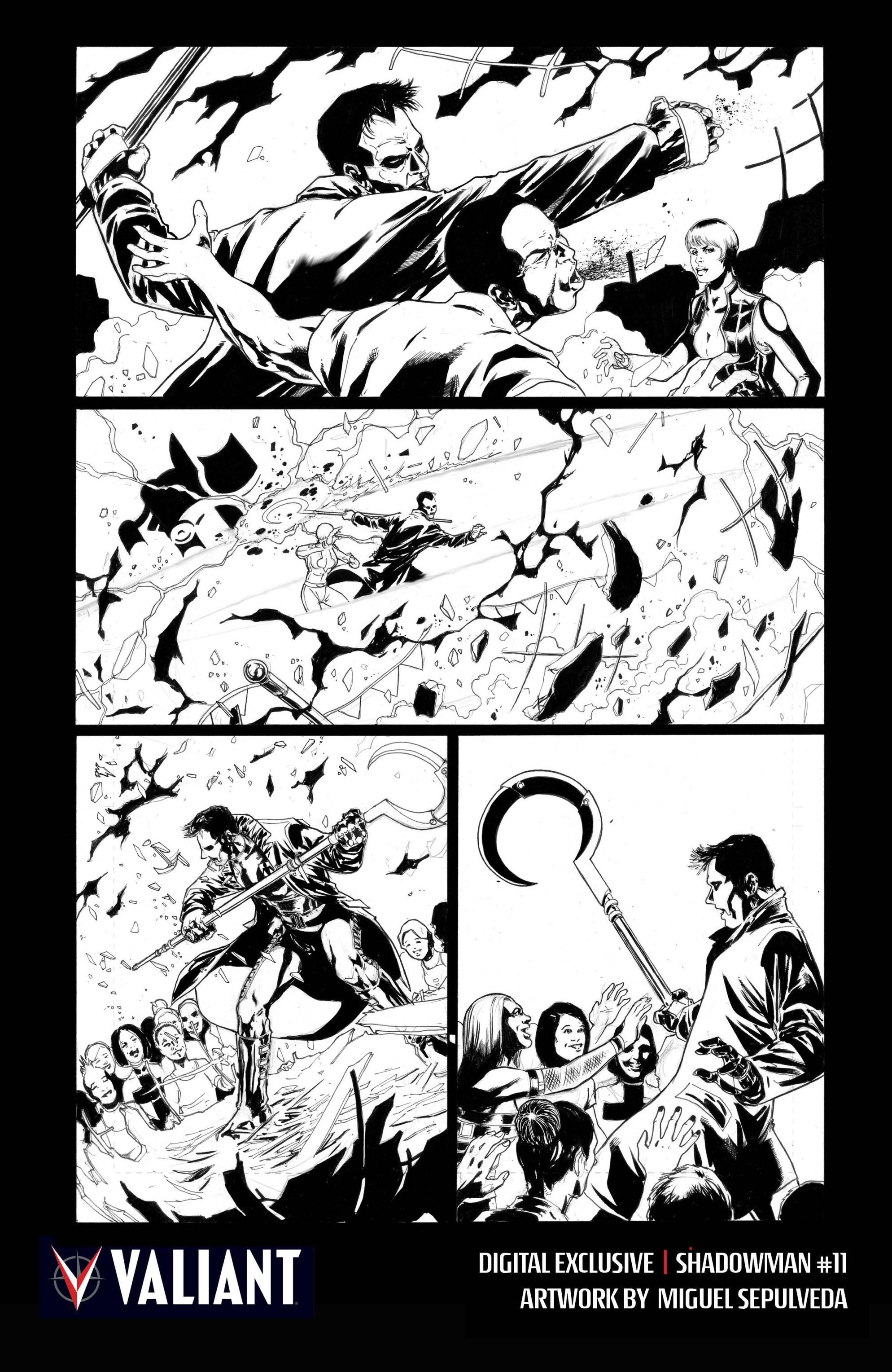 Read online Shadowman (2012) comic -  Issue #11 - 31