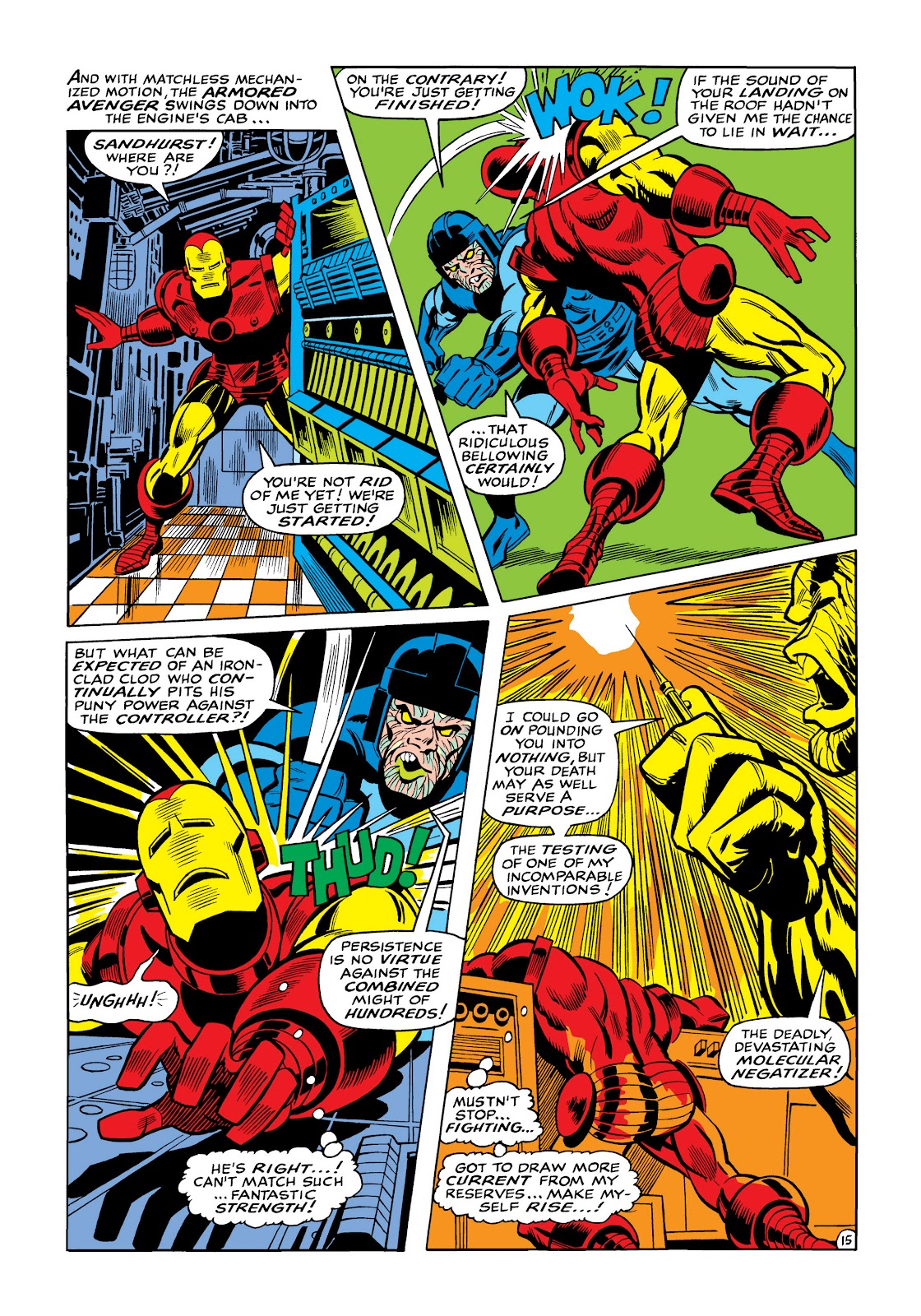 Read online Marvel Masterworks: The Invincible Iron Man comic -  Issue # TPB 5 (Part 3) - 53