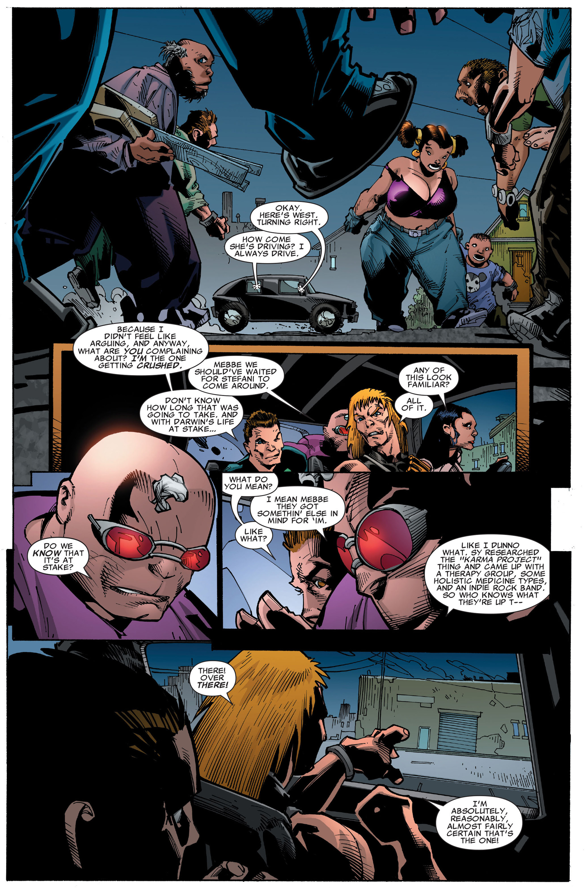 Read online X-Factor (2006) comic -  Issue #36 - 22