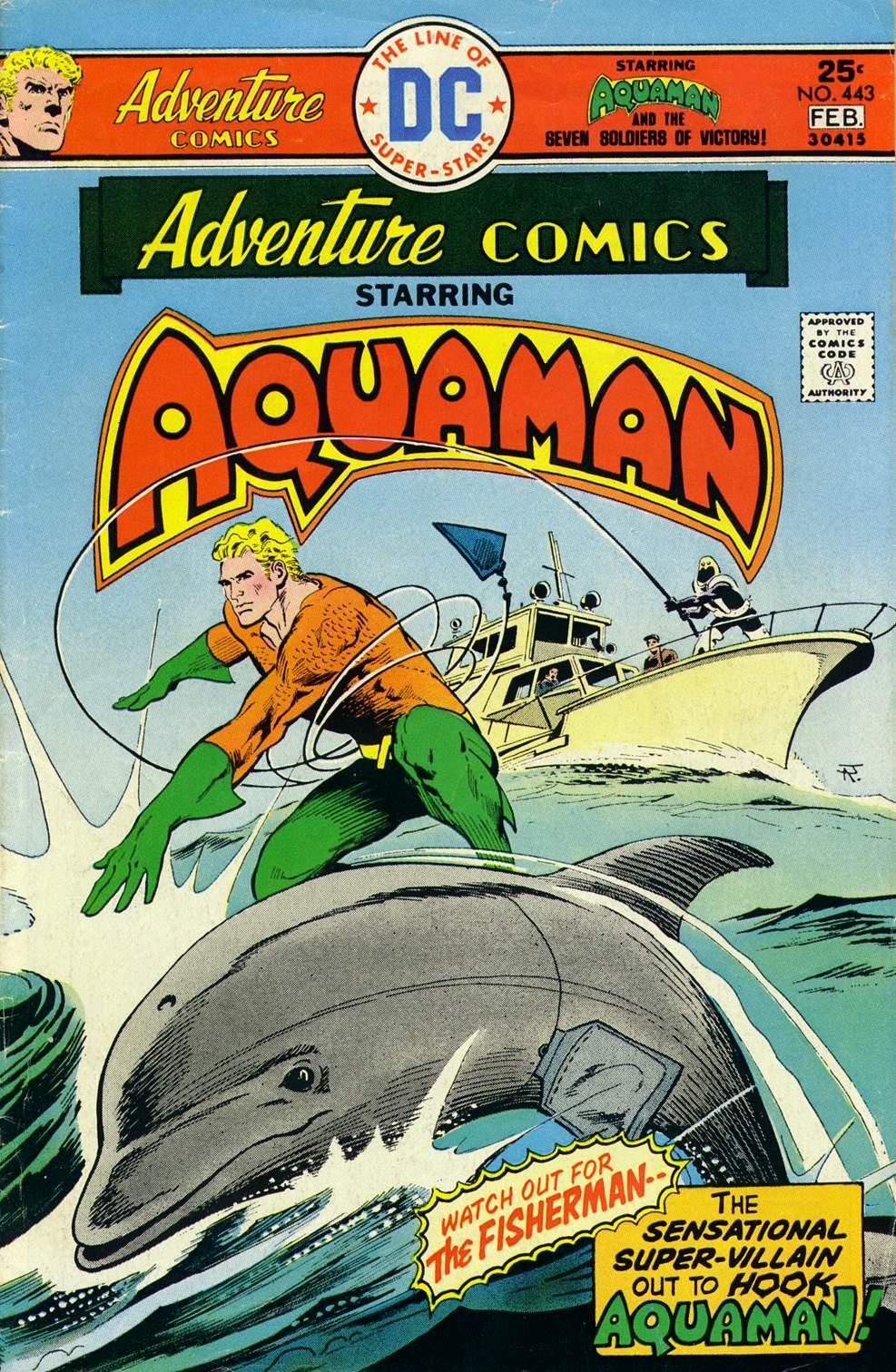 Adventure Comics (1938) 443 Page 1