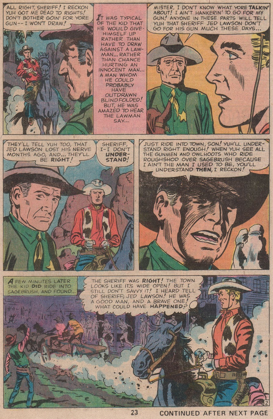 Kid Colt Outlaw issue 211 - Page 25