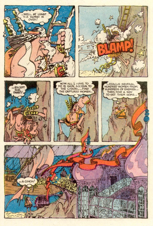 Read online Sergio Aragonés Groo the Wanderer comic -  Issue #4 - 14