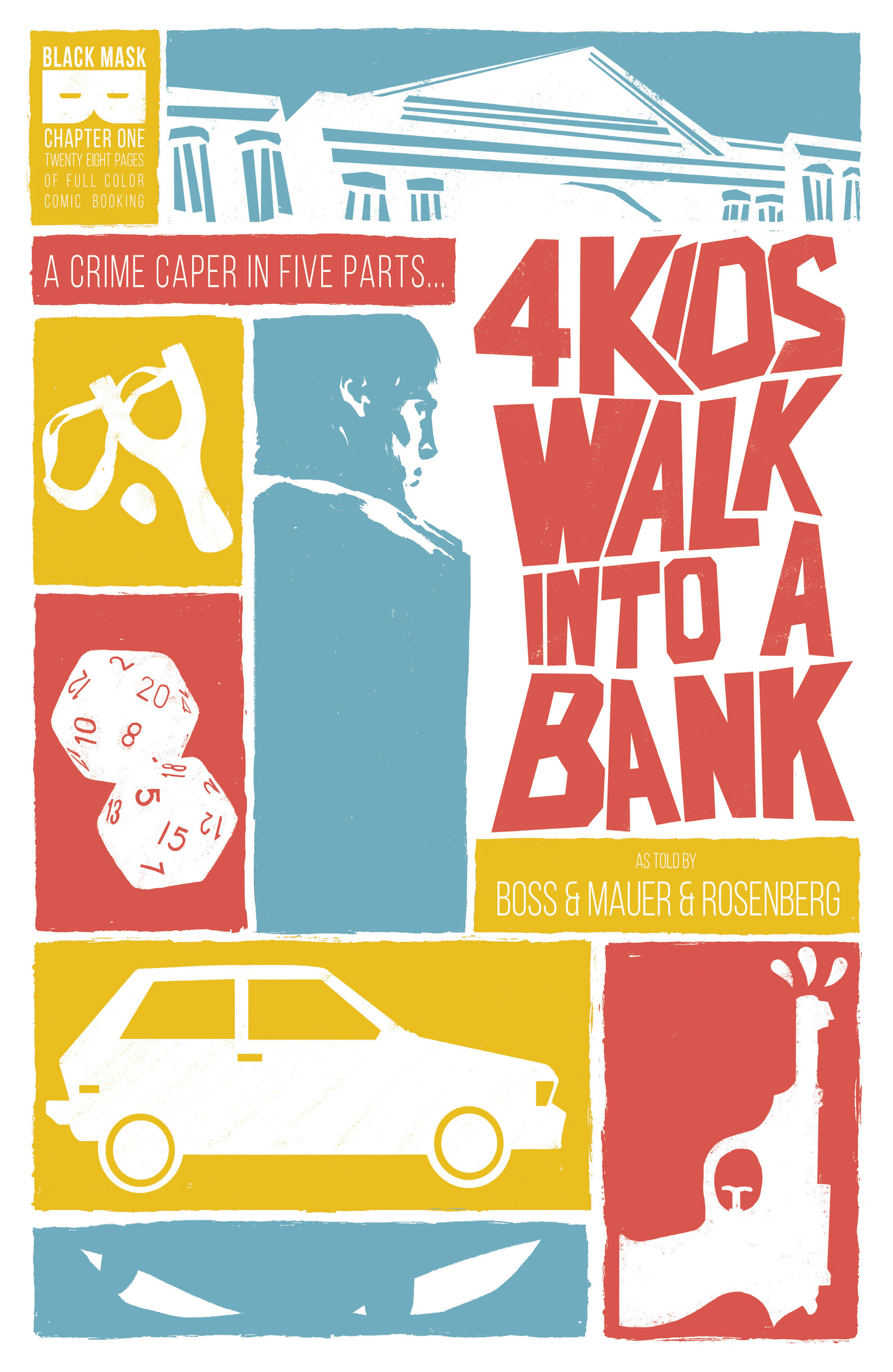 4 Kids Walk Into a Bank 1 Page 1