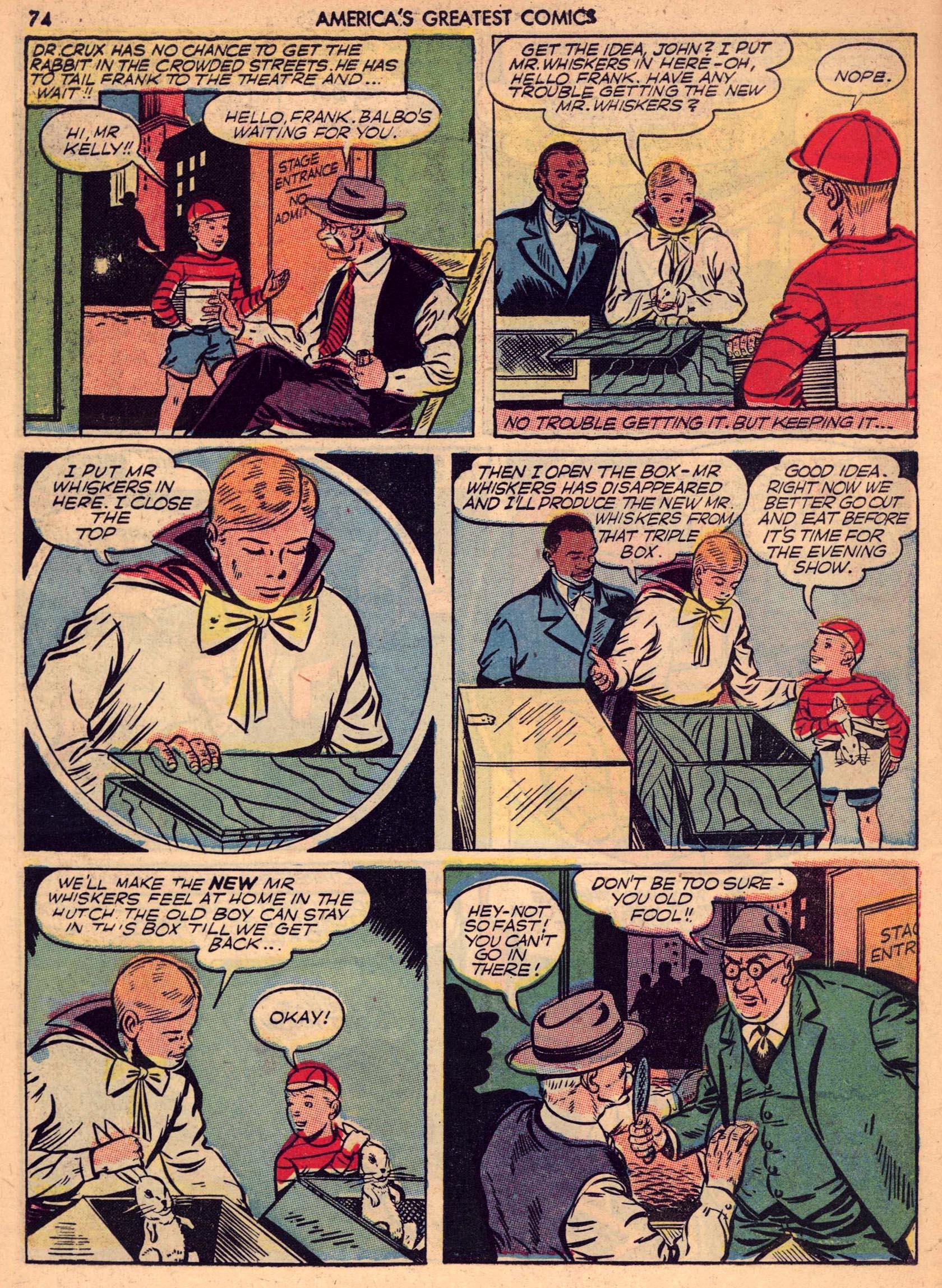 Read online America's Greatest Comics comic -  Issue #7 - 73
