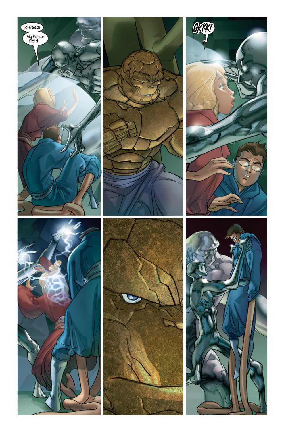 Read online Ultimate Fantastic Four (2004) comic -  Issue #46 - 11
