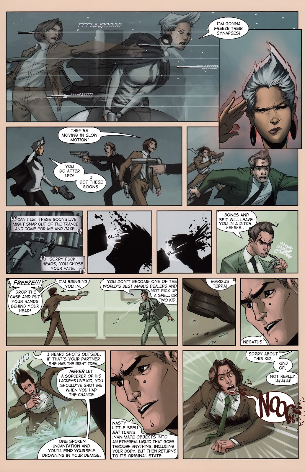 Read online Vescell comic -  Issue #3 - 24