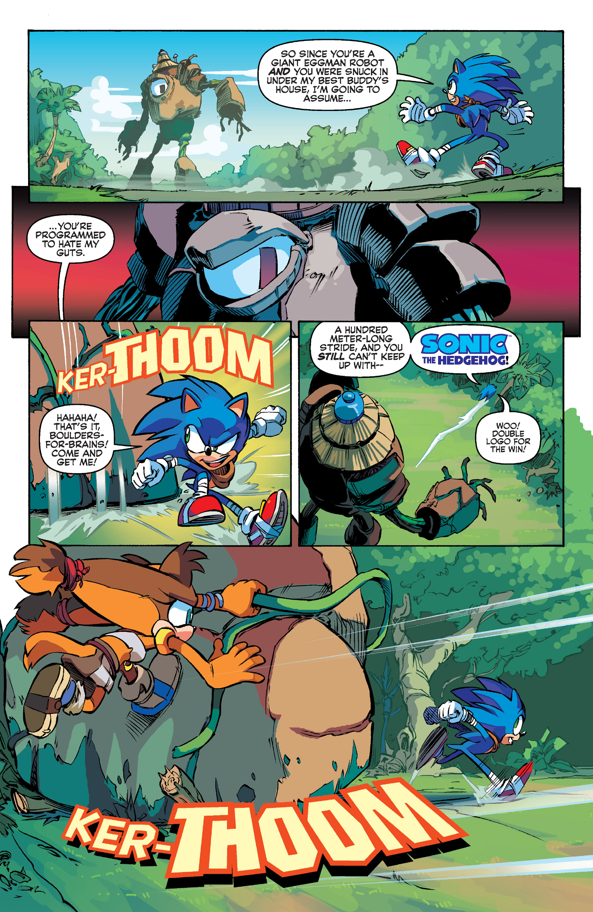 Read online Sonic Boom comic -  Issue #1 - 17
