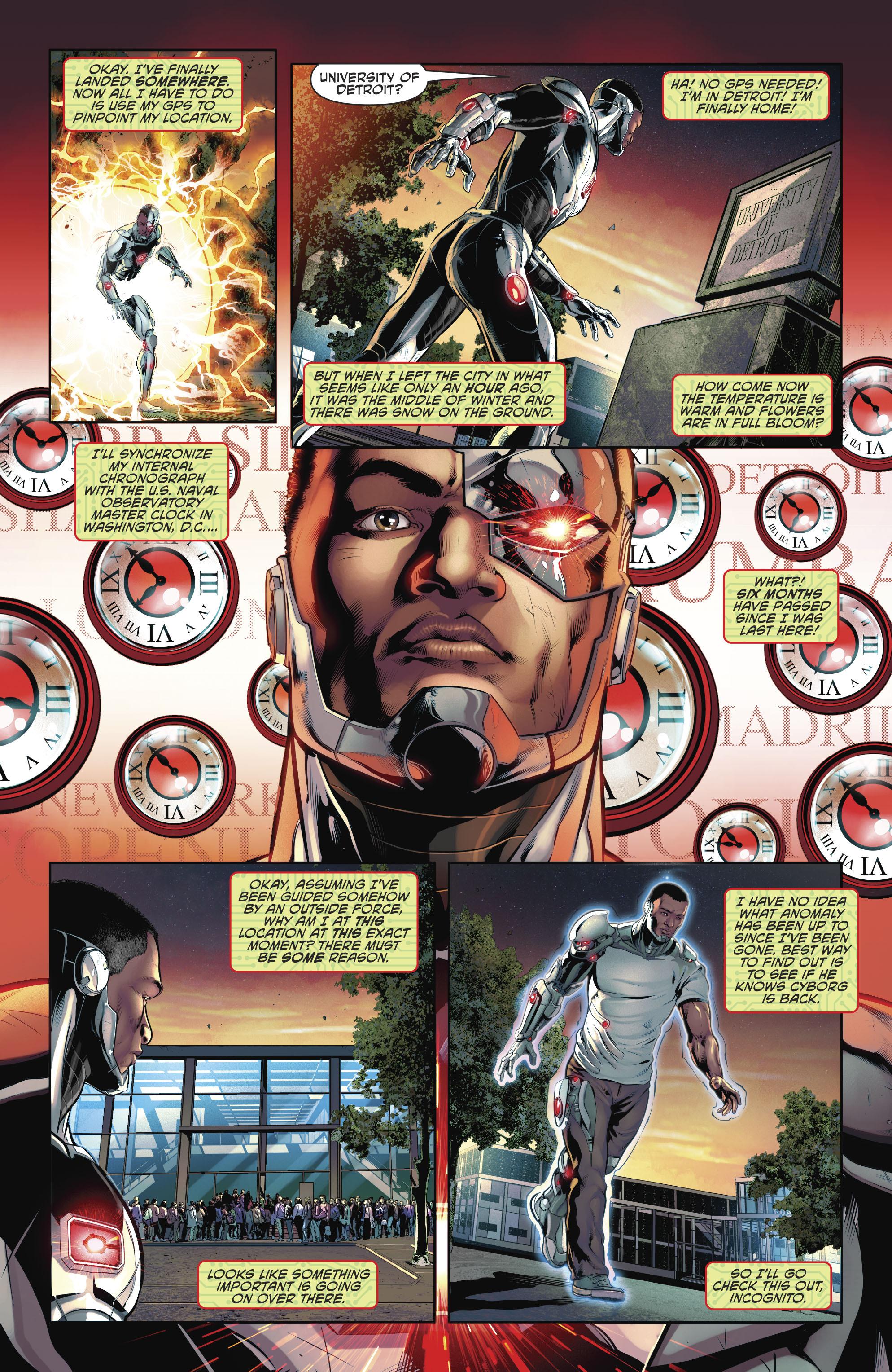 Read online Cyborg (2016) comic -  Issue #12 - 6