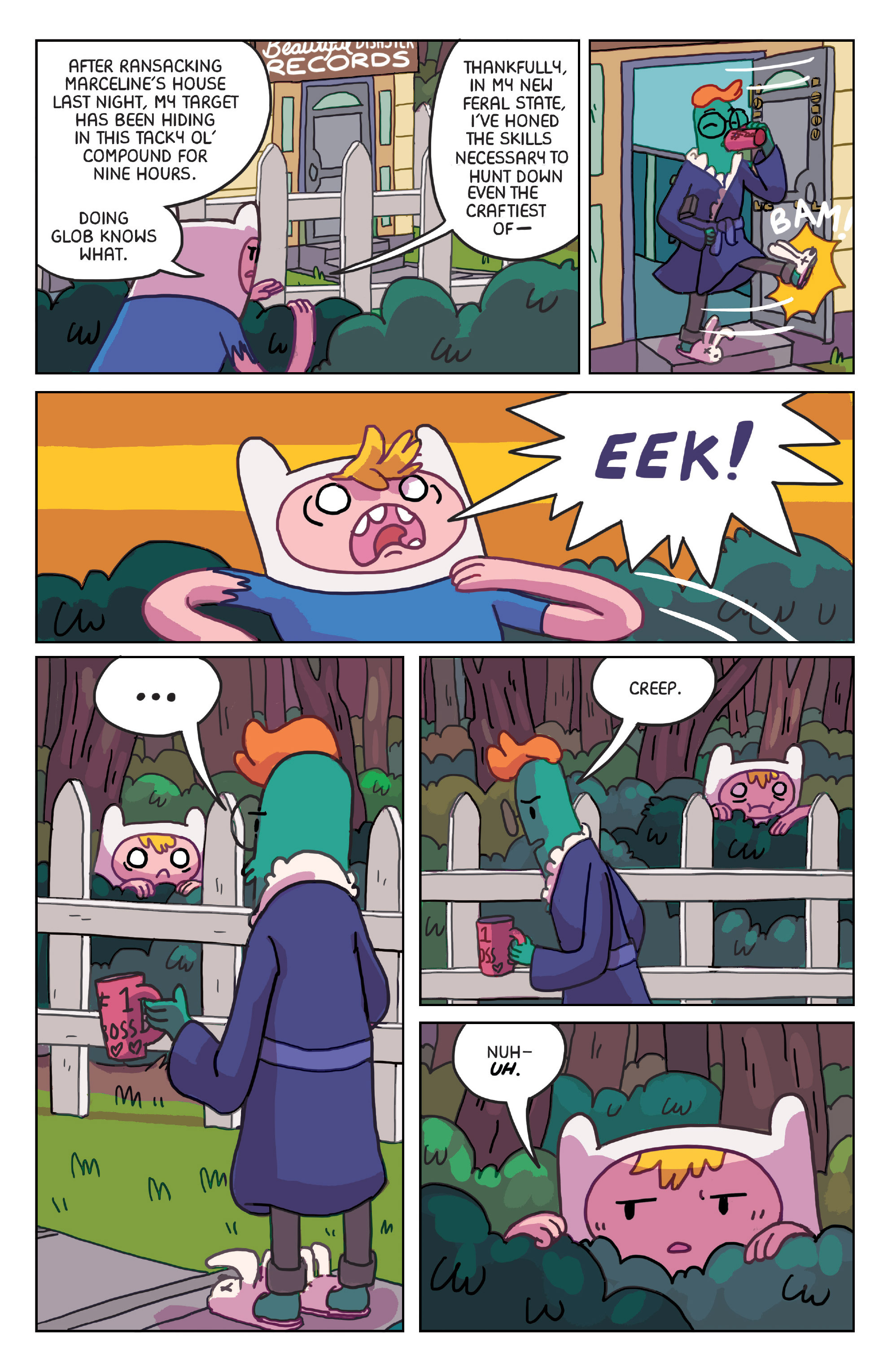 Read online Adventure Time: Marceline Gone Adrift comic -  Issue #4 - 13