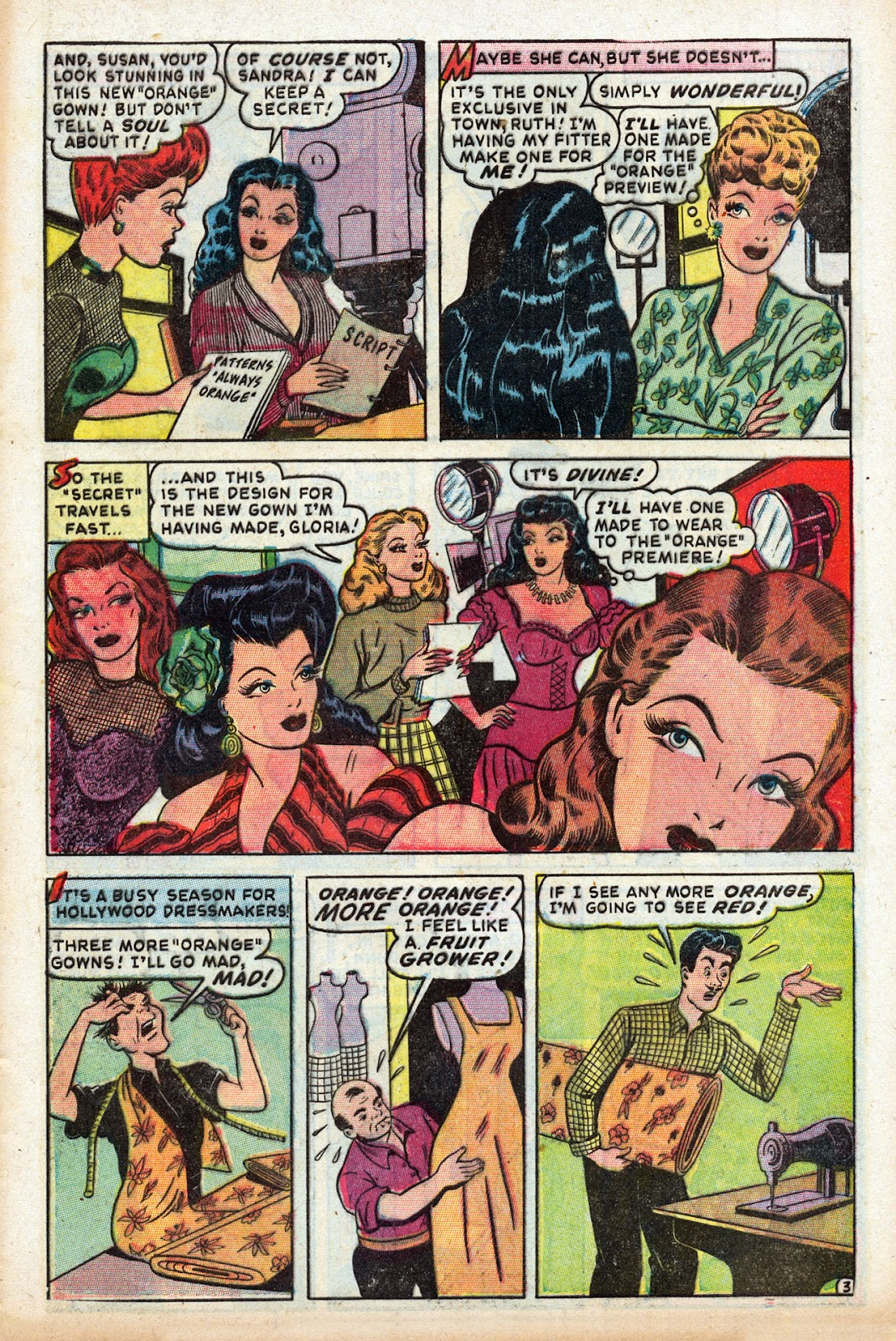 Read online Comedy Comics (1948) comic -  Issue #3 - 5
