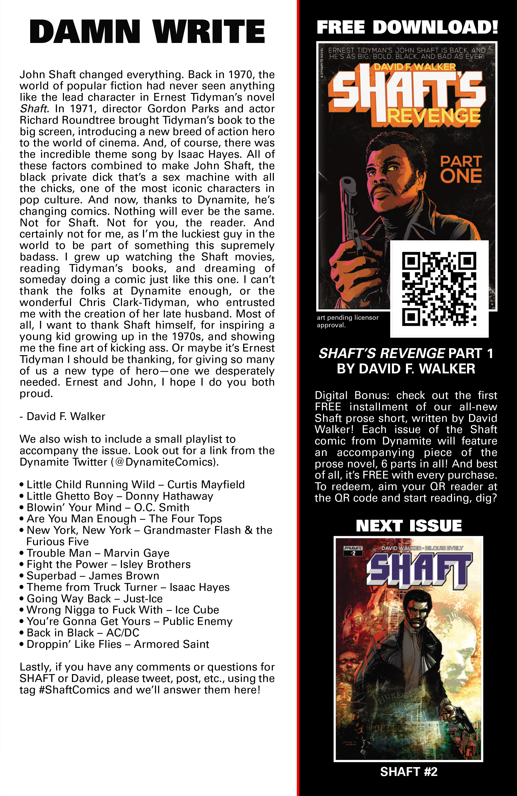 Read online Shaft comic -  Issue #1 - 29