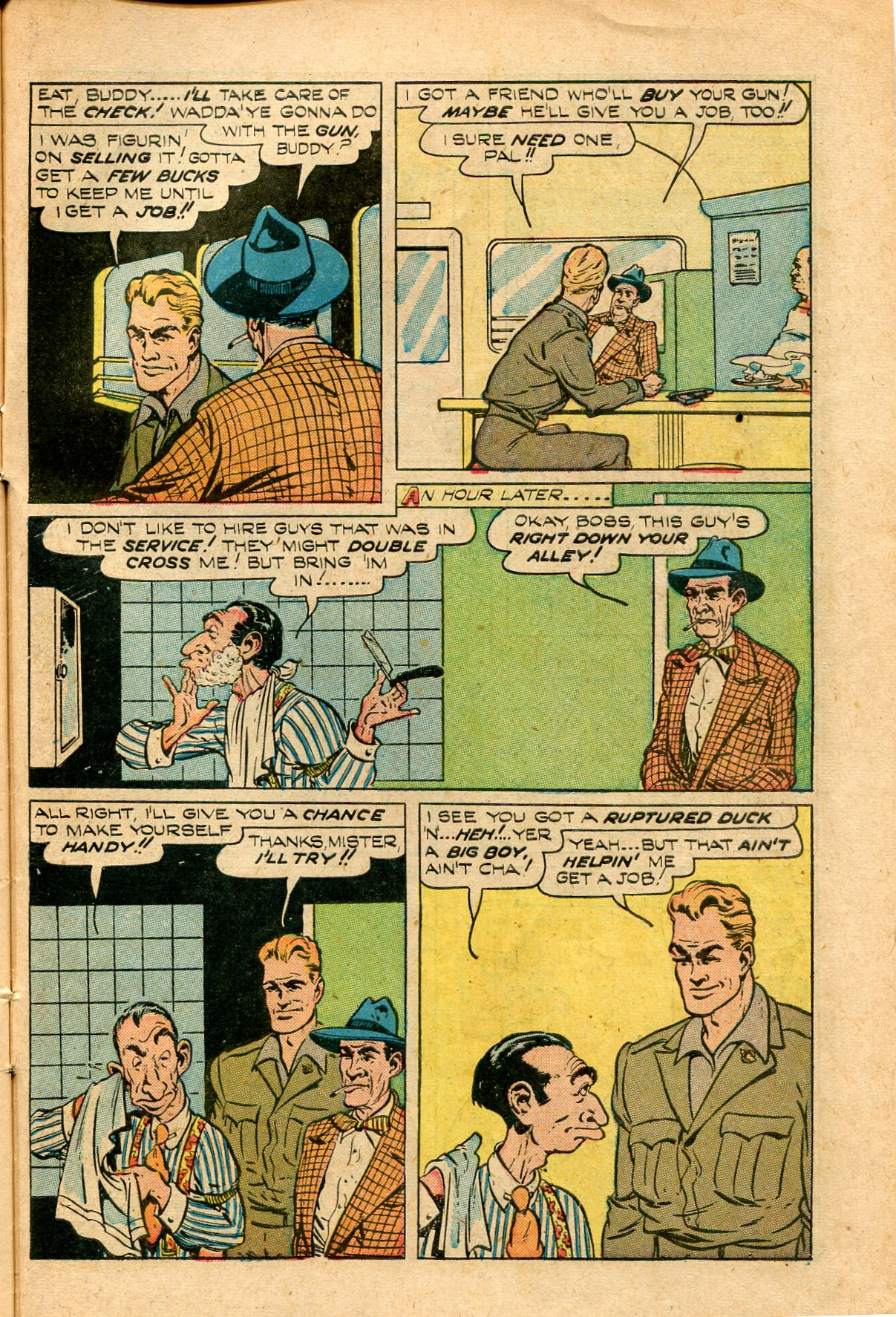 Read online Shadow Comics comic -  Issue #82 - 43