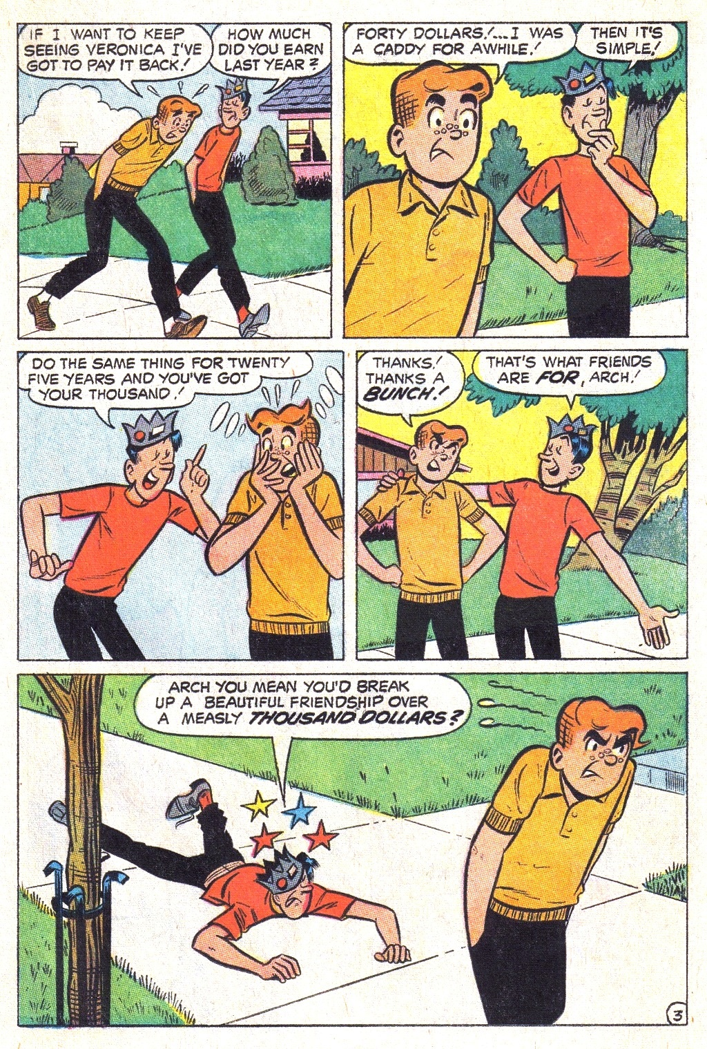 Read online Archie (1960) comic -  Issue #193 - 15