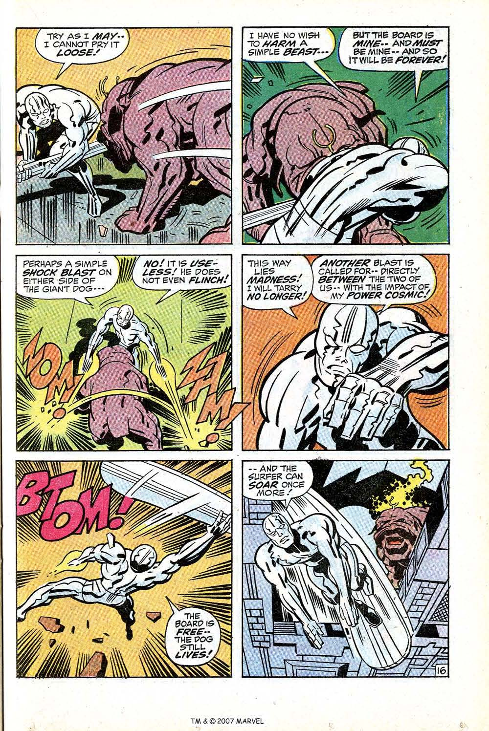Silver Surfer (1968) issue 18 - Page 23