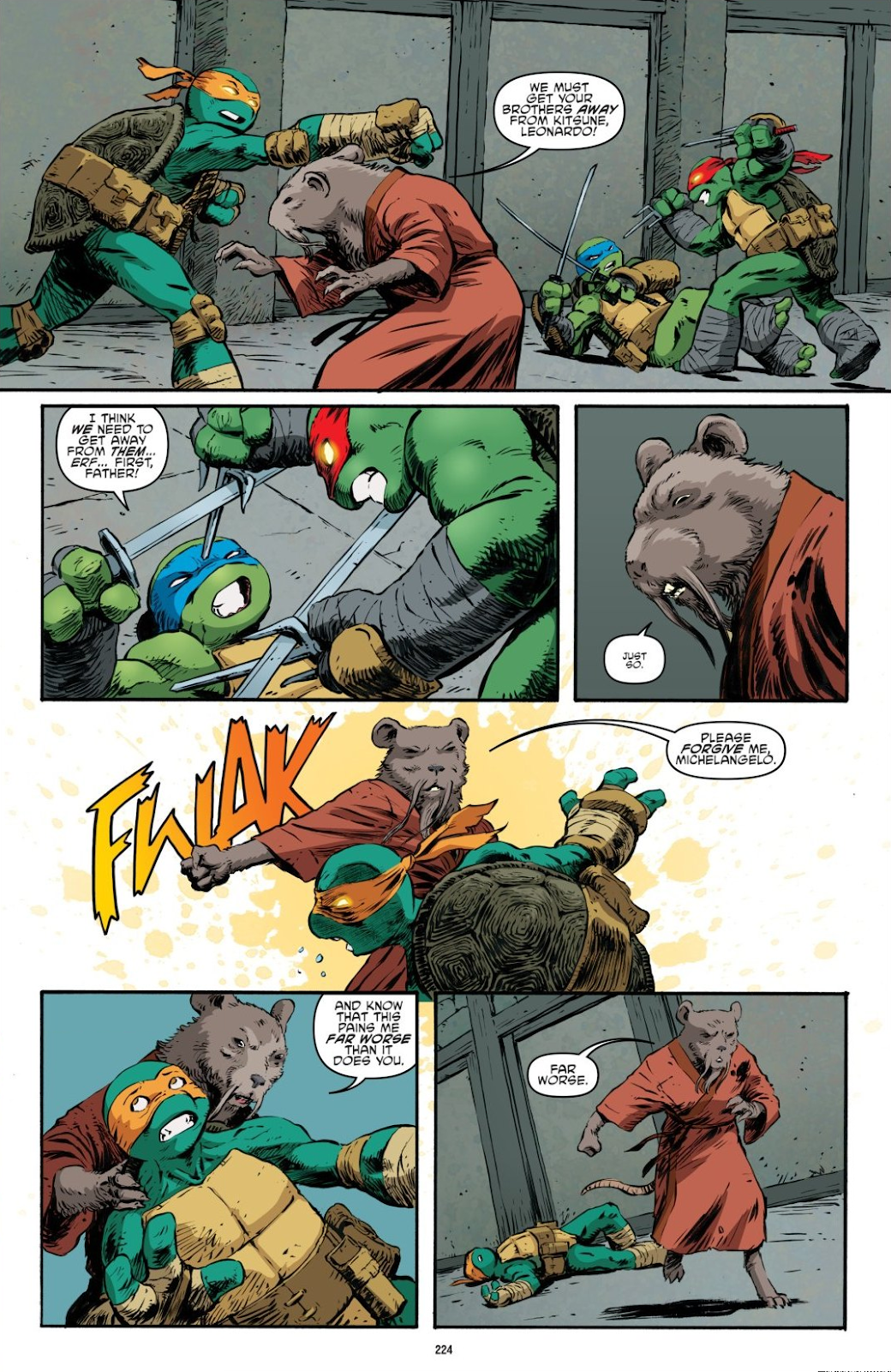 Read online Teenage Mutant Ninja Turtles: The IDW Collection comic -  Issue # TPB 7 (Part 3) - 16