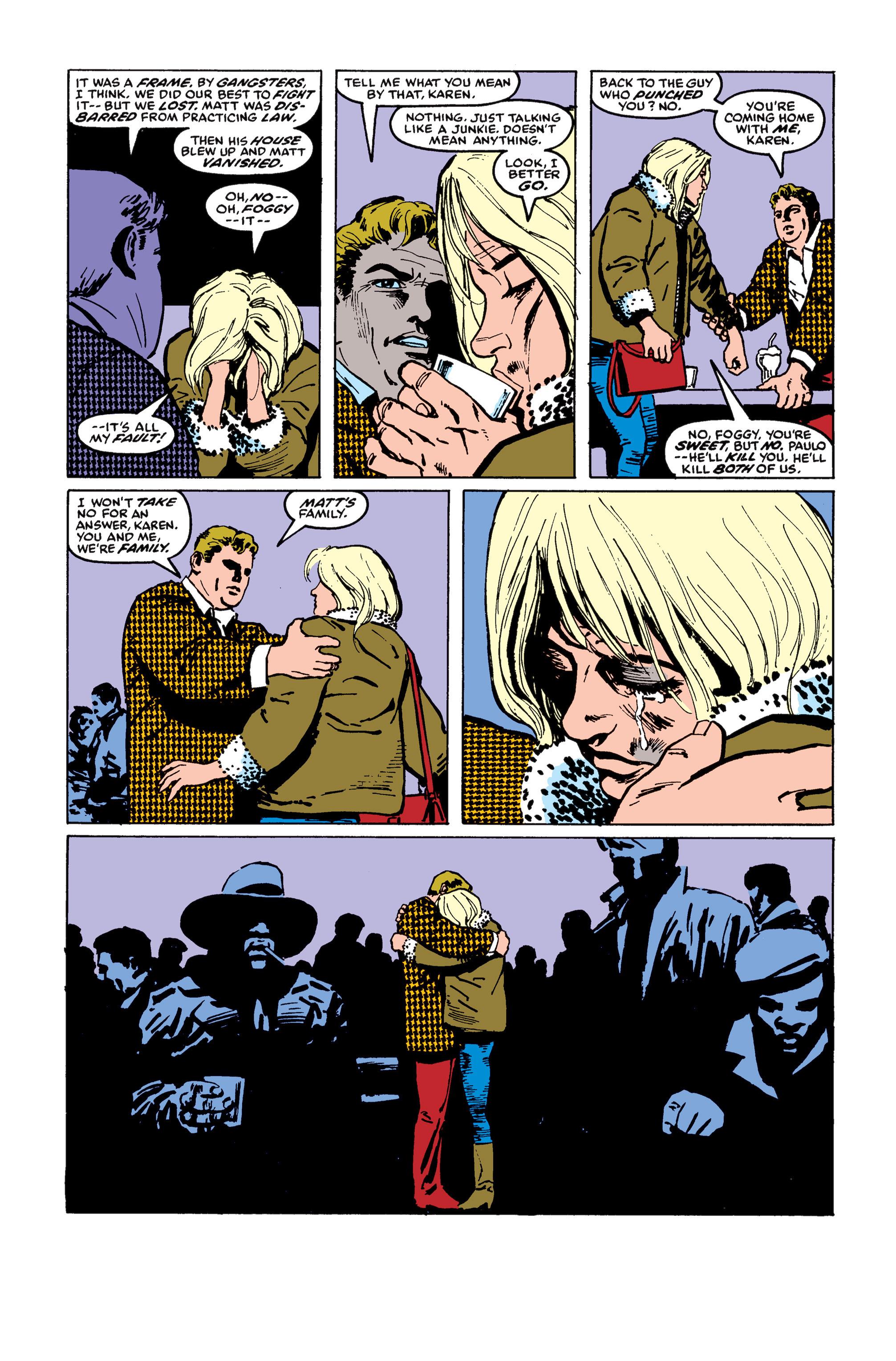 Read online Daredevil: Born Again comic -  Issue # Full - 118