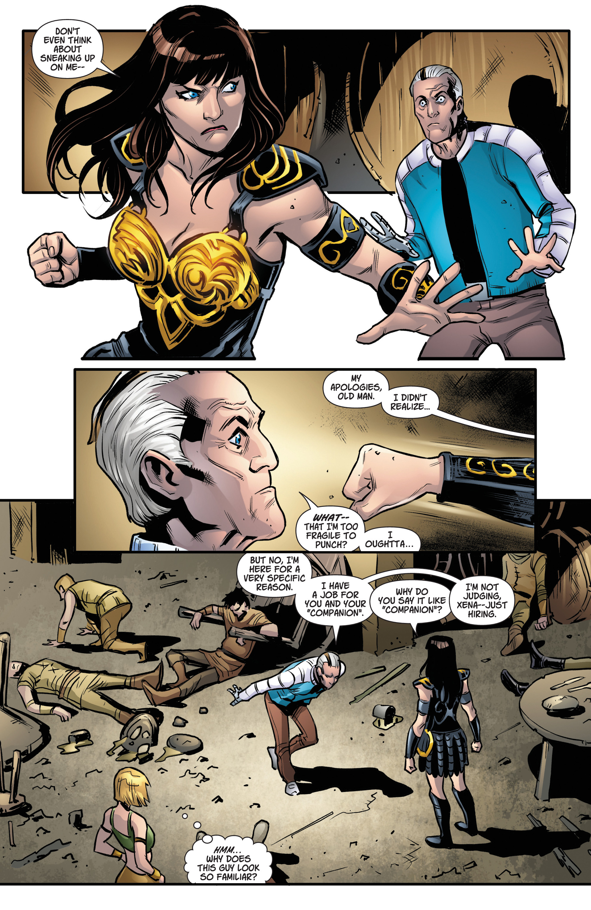 Read online Army Of Darkness/Xena: Forever…And A Day comic -  Issue #5 - 15