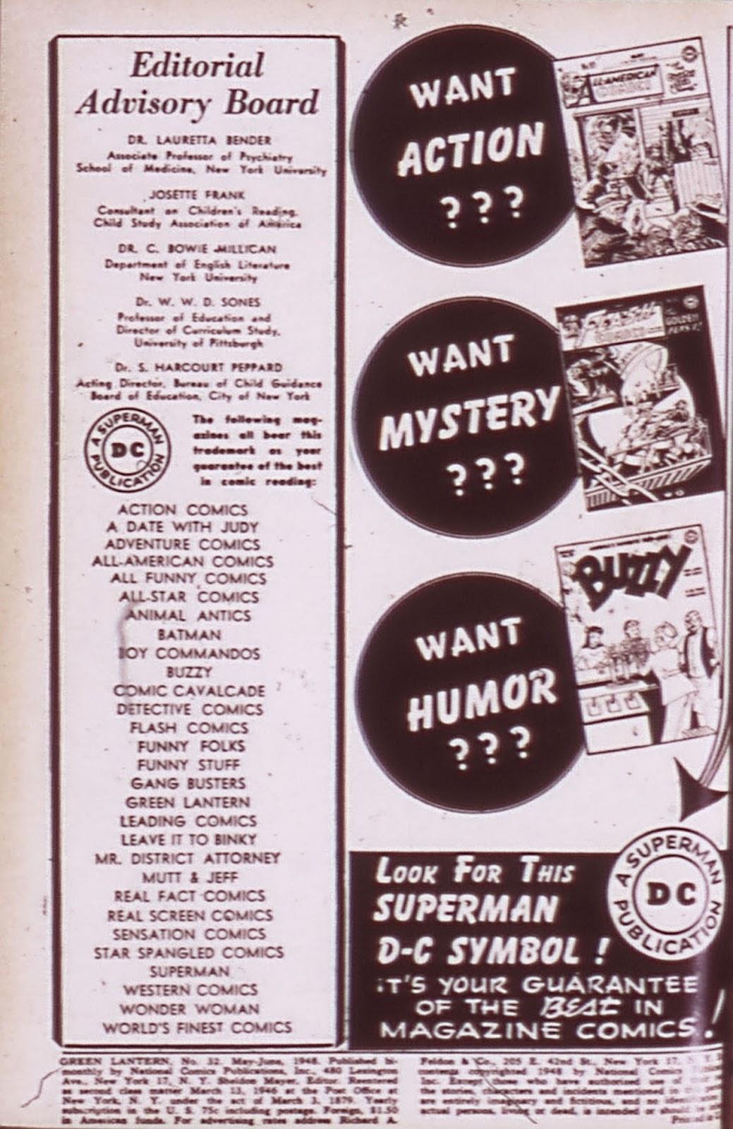 Green Lantern (1941) Issue #32 #32 - English 2