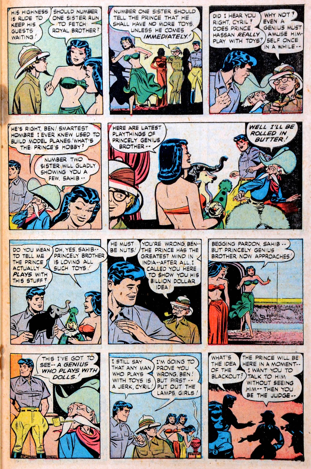 Read online Famous Funnies comic -  Issue #194 - 40