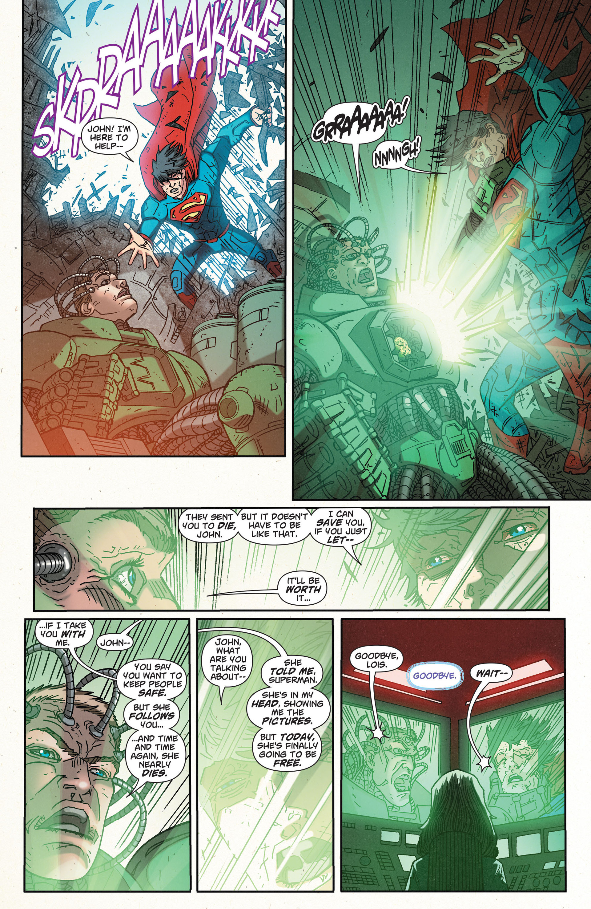 Read online Action Comics (2011) comic -  Issue #32 - 20