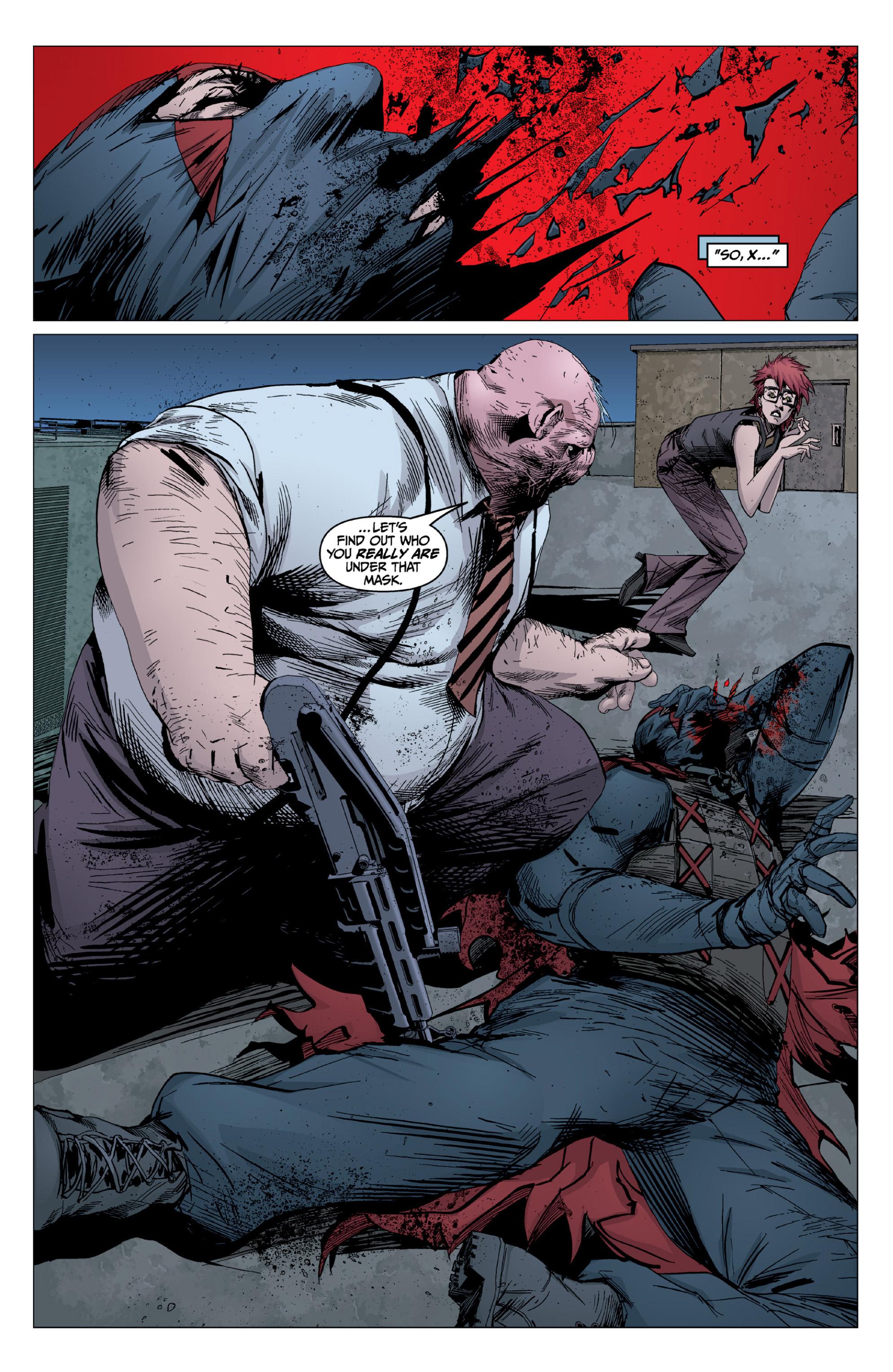 Read online X: Big Bad comic -  Issue # Full - 105