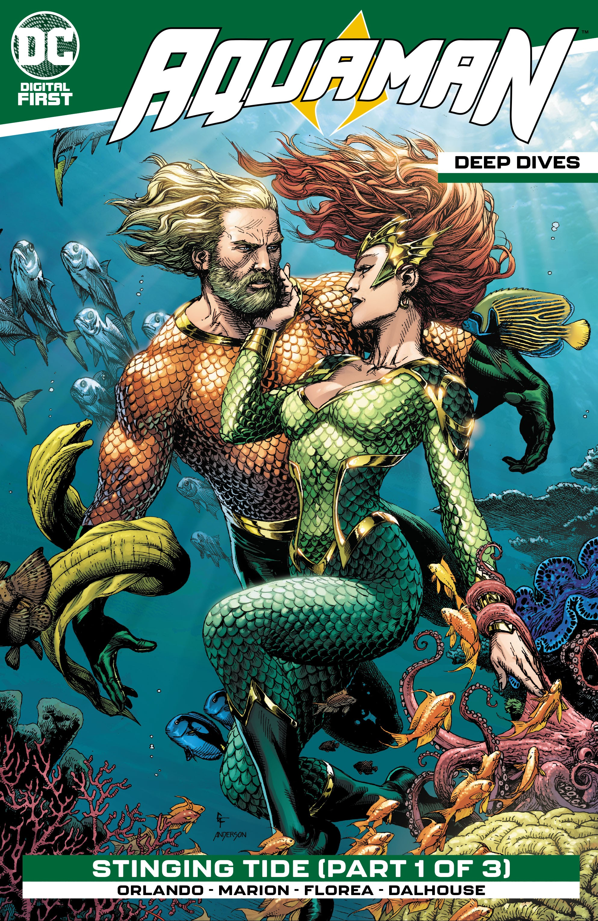 Aquaman: Deep Dives 5 Page 1