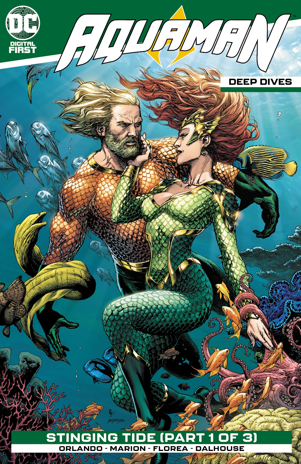 Aquaman: Deep Dives issue 5 - Page 1