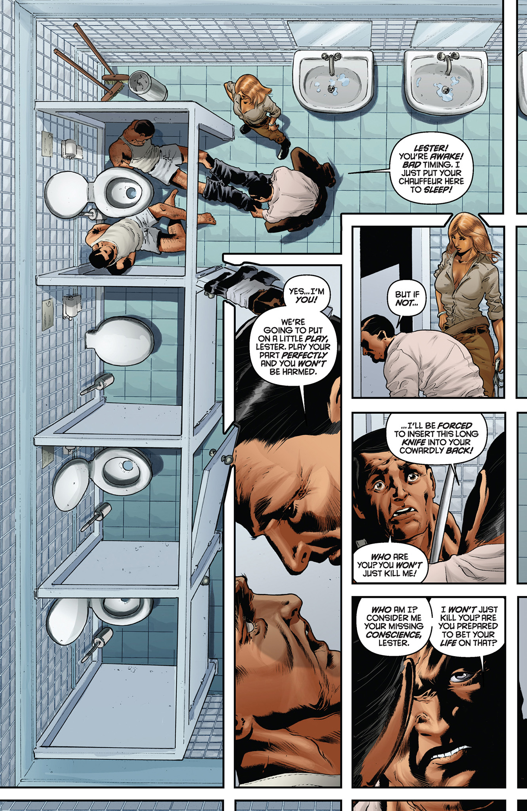 Read online Justice, Inc. comic -  Issue #5 - 15