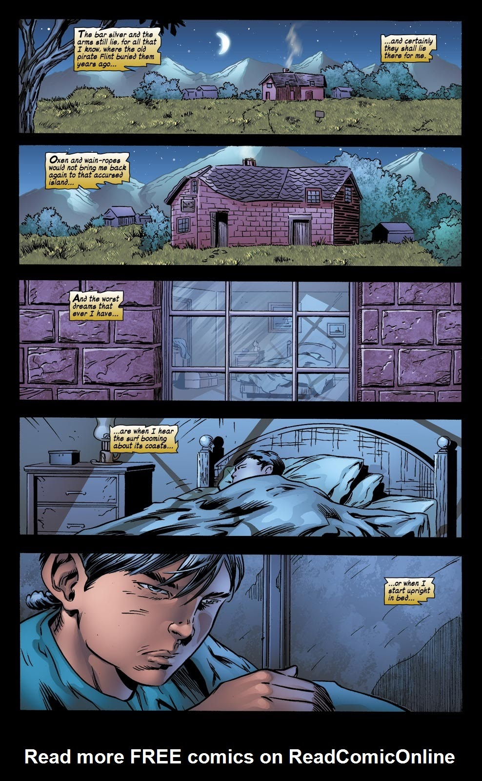 Read online Treasure Island comic -  Issue #6 - 23