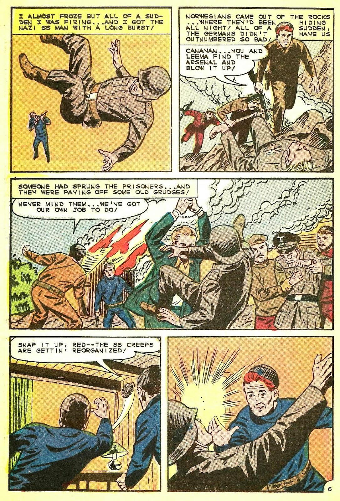 Read online Fightin' Navy comic -  Issue #124 - 20