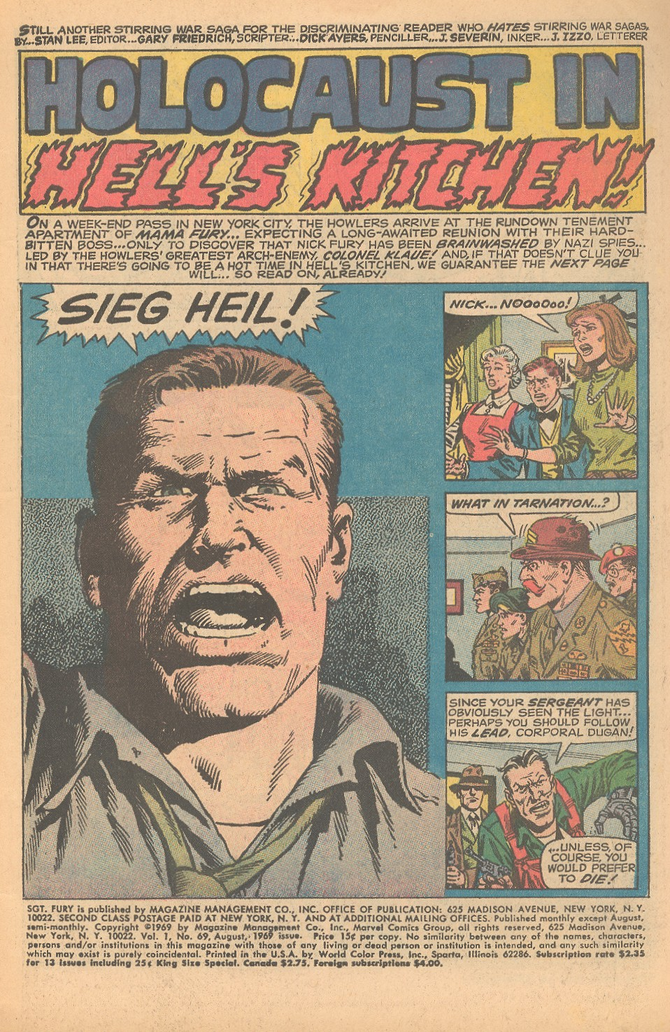 Read online Sgt. Fury comic -  Issue #69 - 3