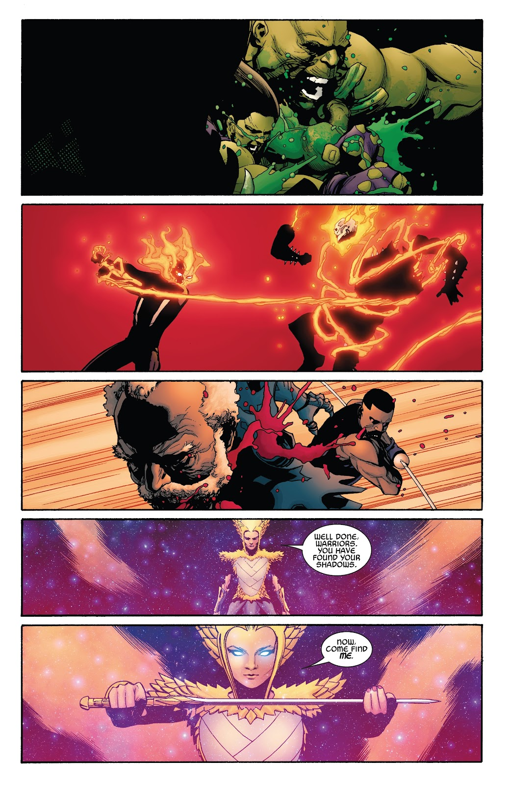 Read online War Of The Realms Strikeforce comic -  Issue # The Dark Elf Realm - 20