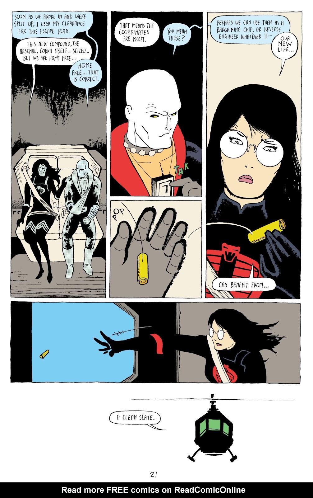 Read online G.I. Joe: Sierra Muerte comic -  Issue #3 - 23