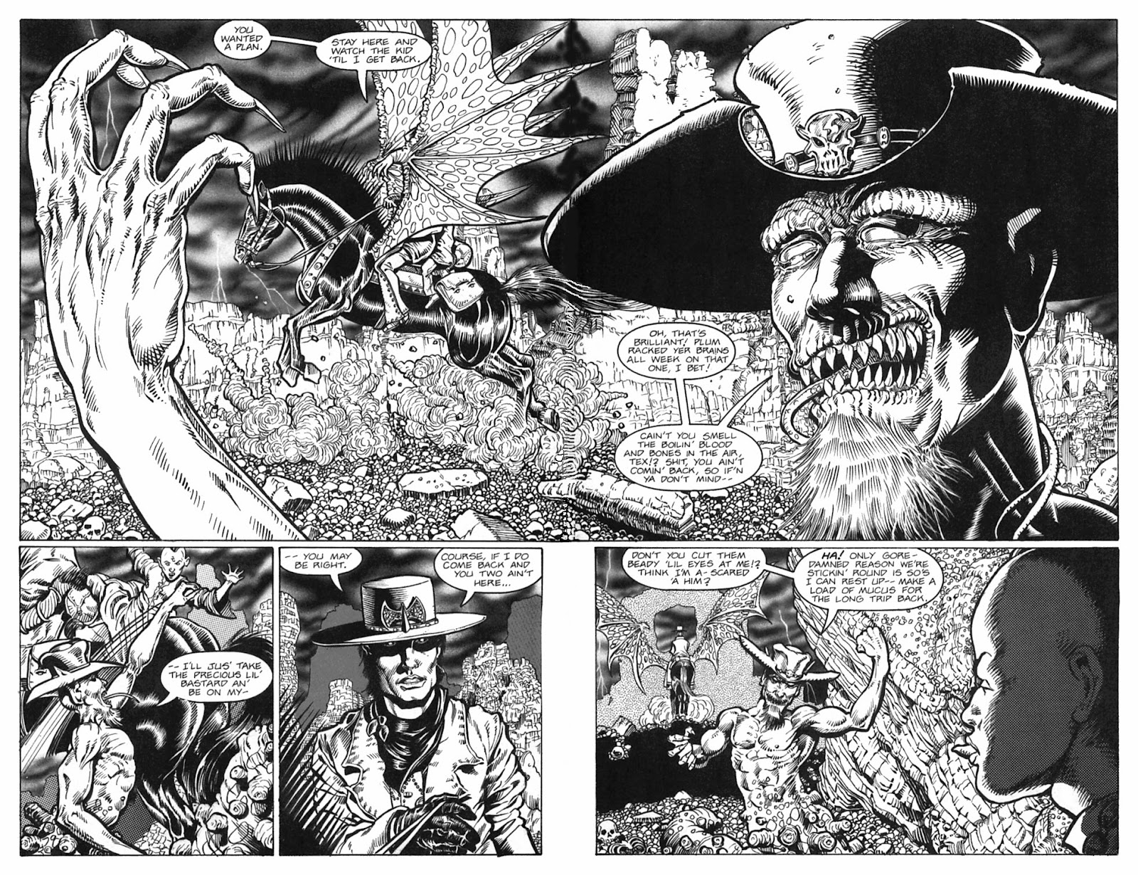 Read online Gunfighters in Hell comic -  Issue #3 - 10