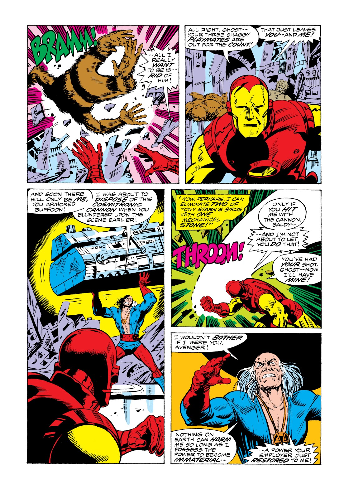 Read online Marvel Masterworks: The Invincible Iron Man comic -  Issue # TPB 11 (Part 1) - 44